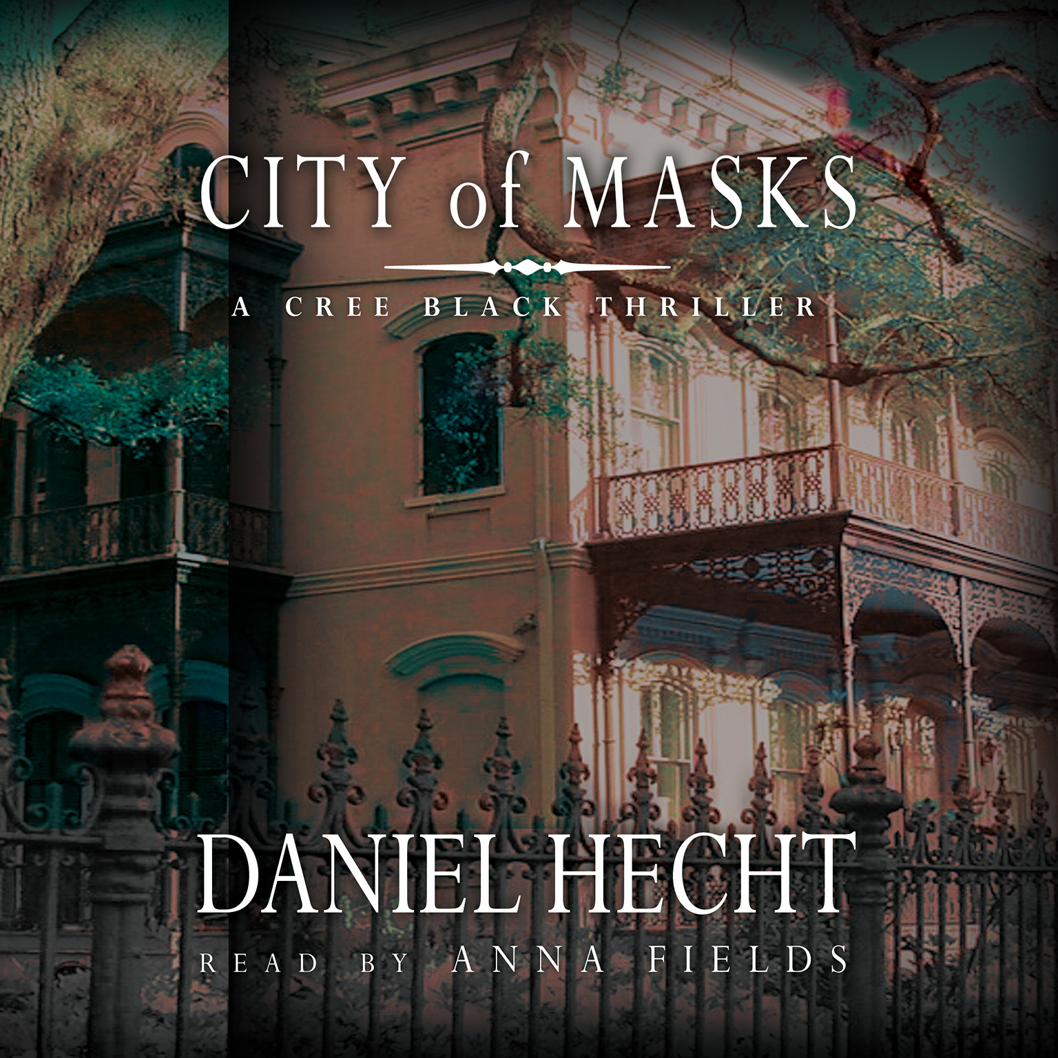Printable City of Masks: A Cree Black Thriller Audiobook Cover Art
