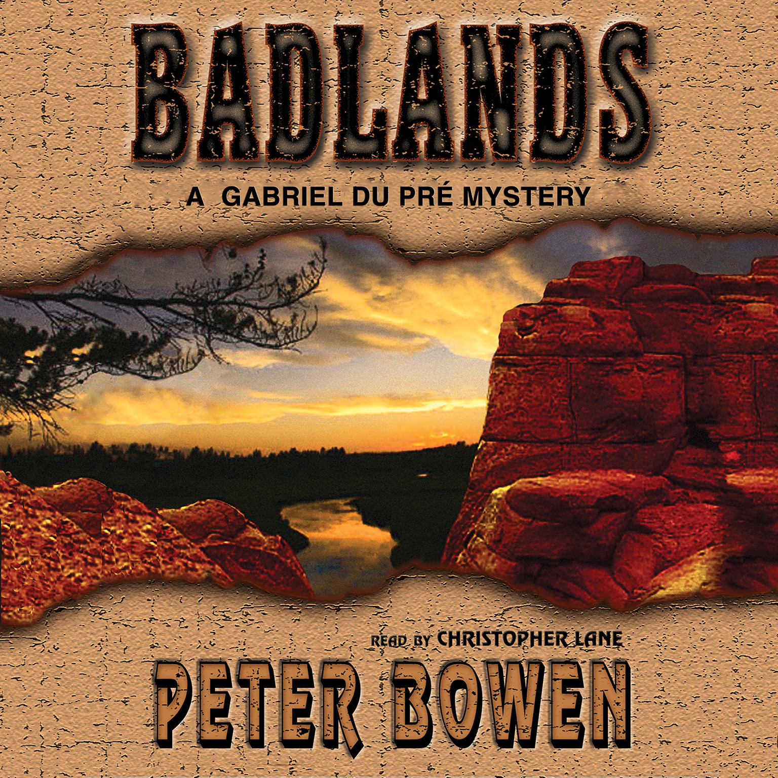Printable Badlands: A Gabriel Du Pré Mystery Audiobook Cover Art