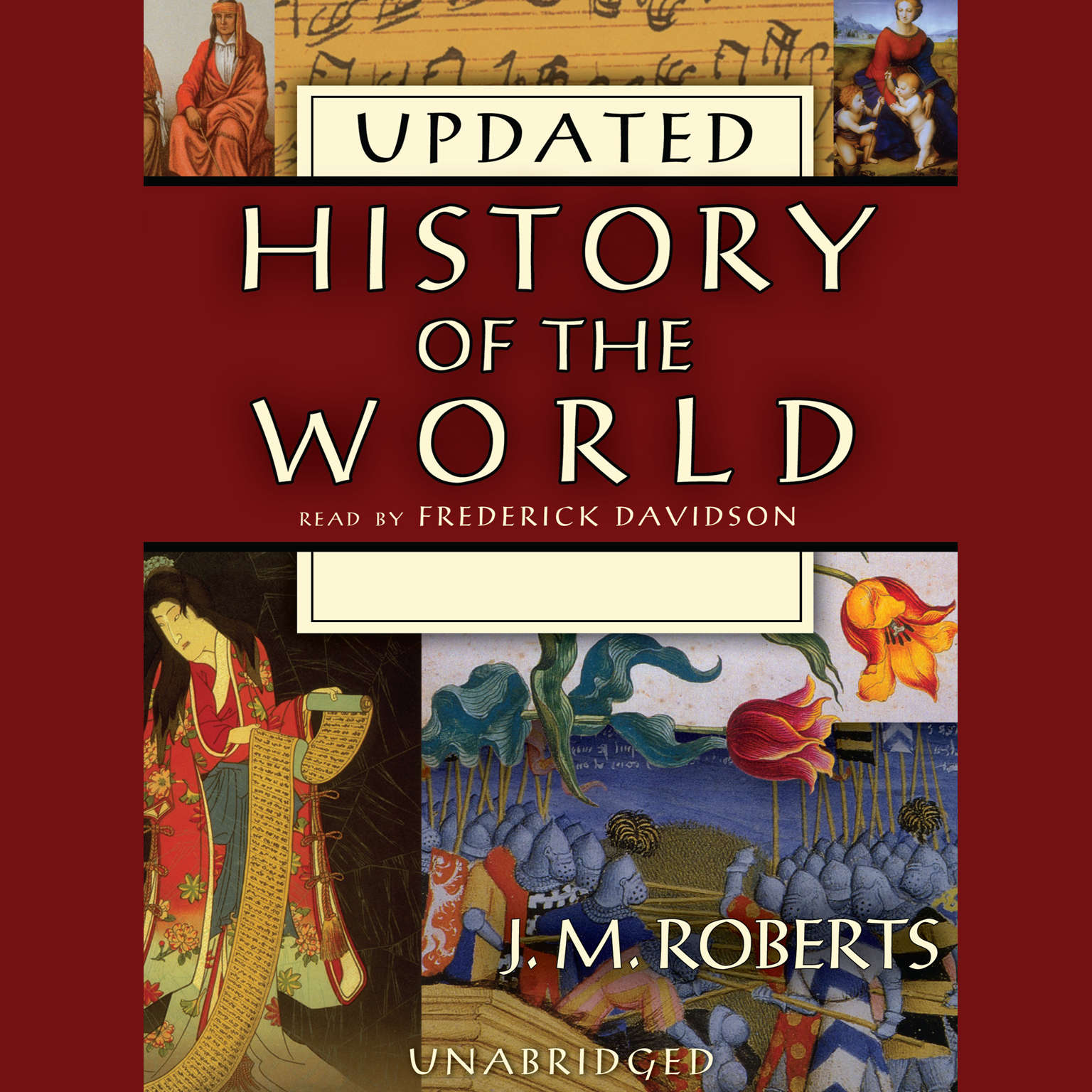 Printable History of the World (Updated) Audiobook Cover Art