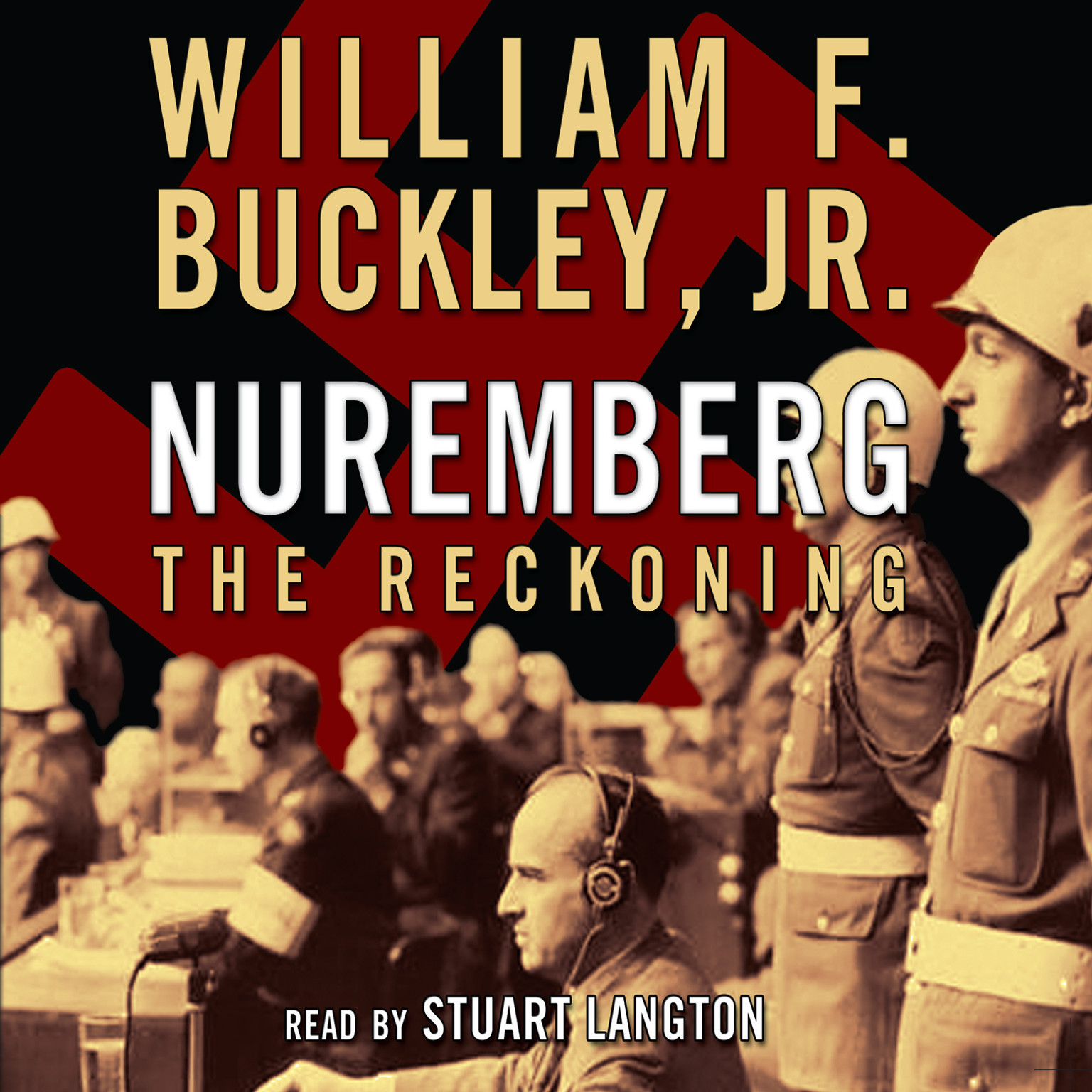 Printable Nuremberg: The Reckoning Audiobook Cover Art