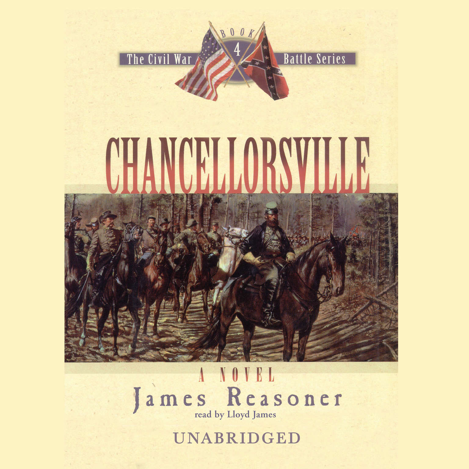 Printable Chancellorsville Audiobook Cover Art