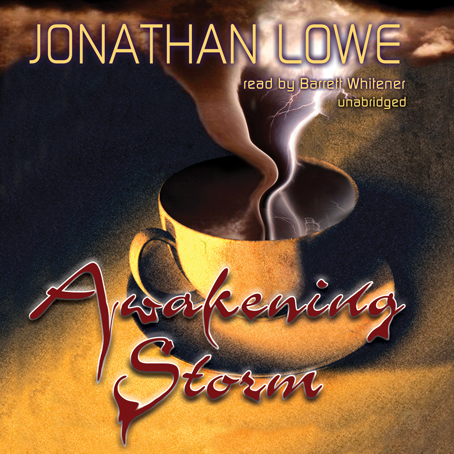 Printable Awakening Storm Audiobook Cover Art