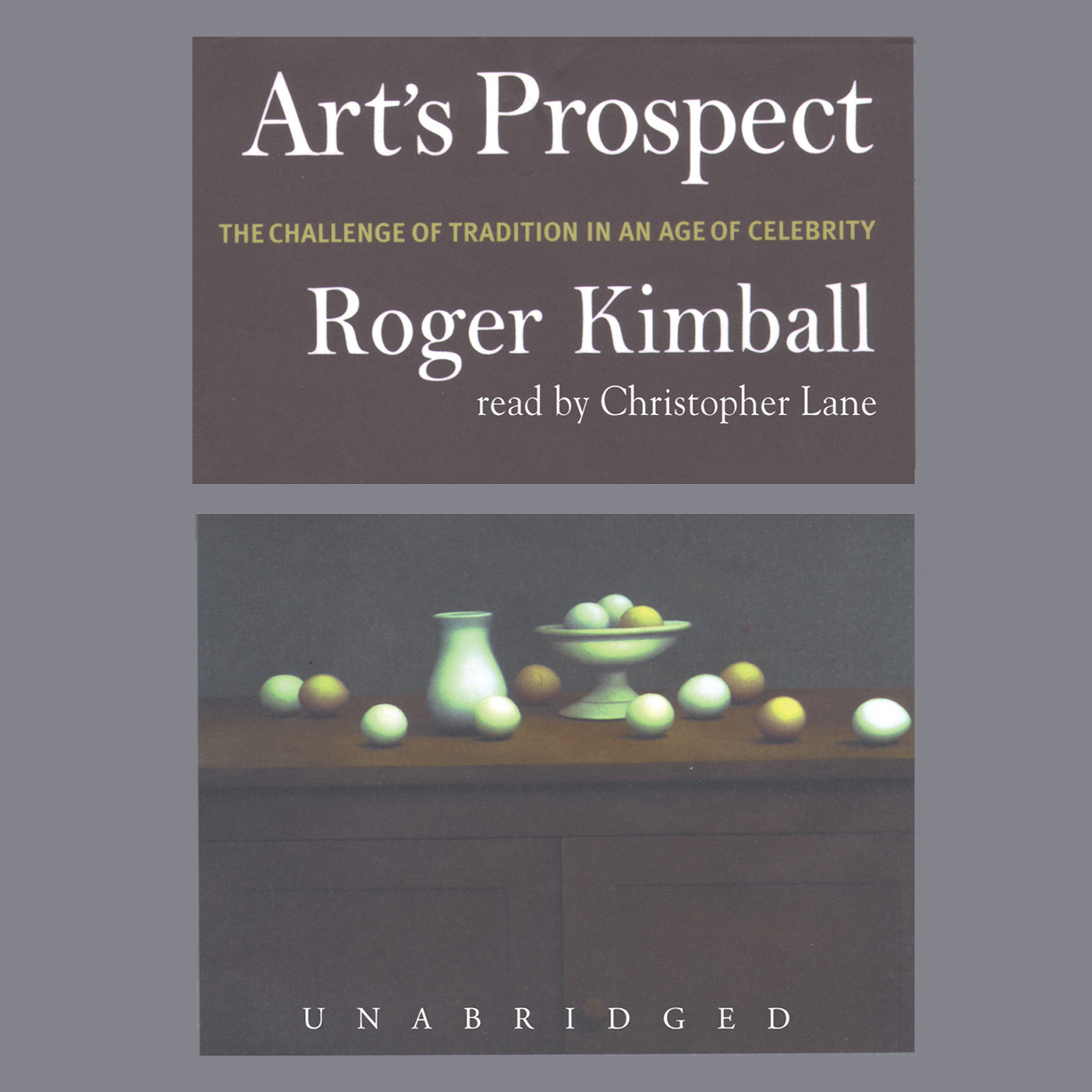 Printable Art's Prospect: The Challenge of Tradition in an Age of Celebrity Audiobook Cover Art