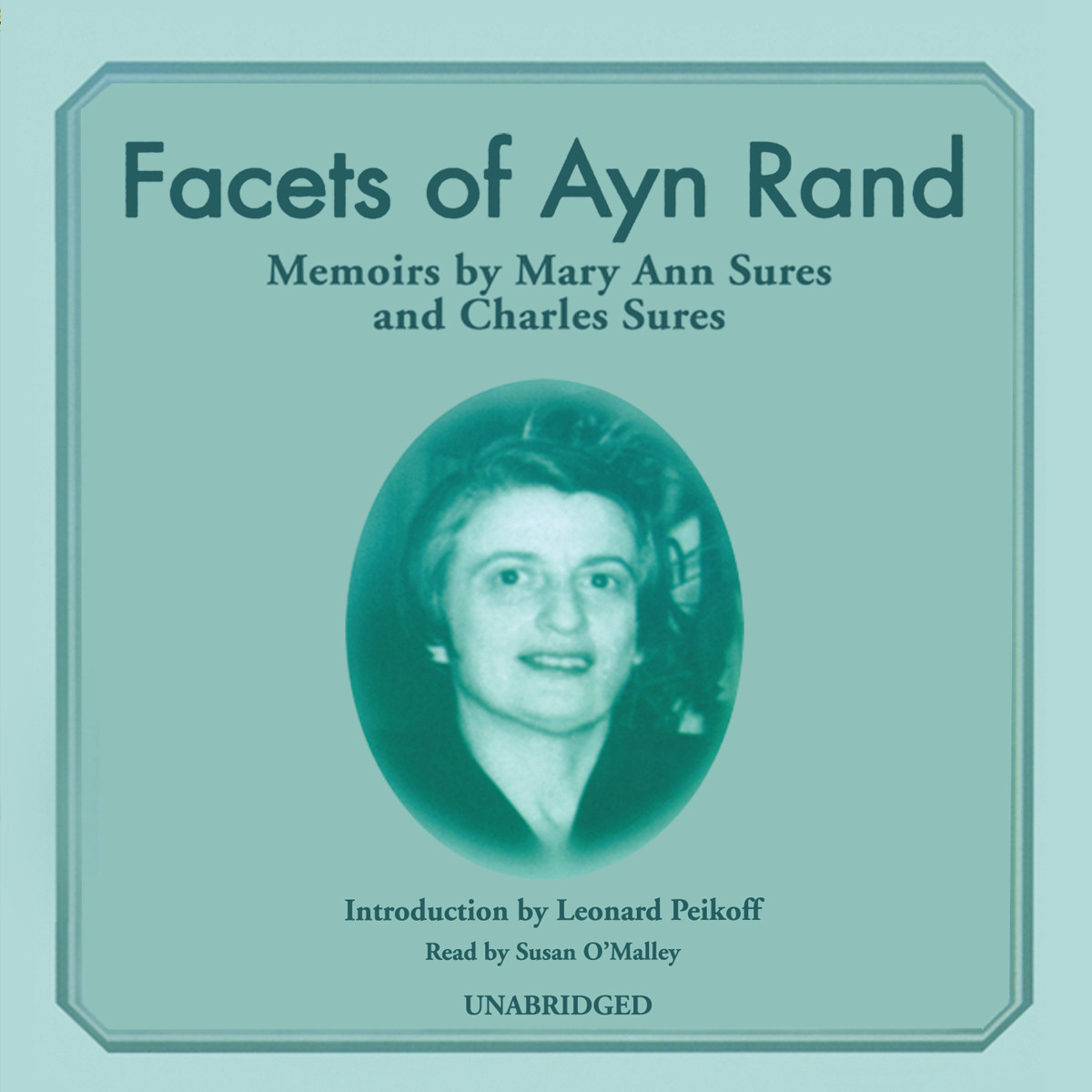 Printable Facets of Ayn Rand: Memoirs Audiobook Cover Art