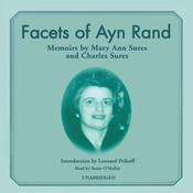 Facets of Ayn Rand: Memoirs Audiobook, by Charles Sures, Mary Ann Sures