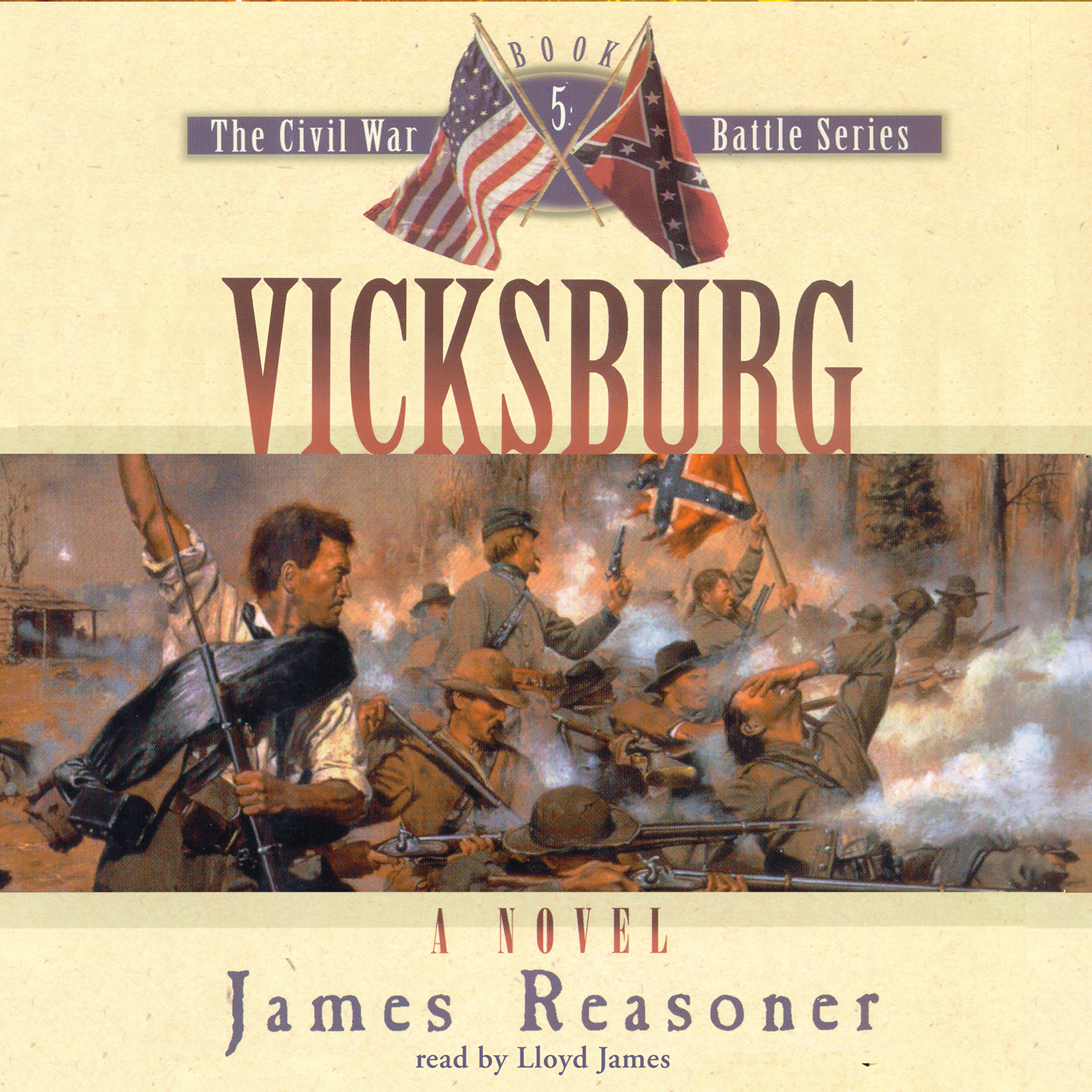 Printable Vicksburg Audiobook Cover Art