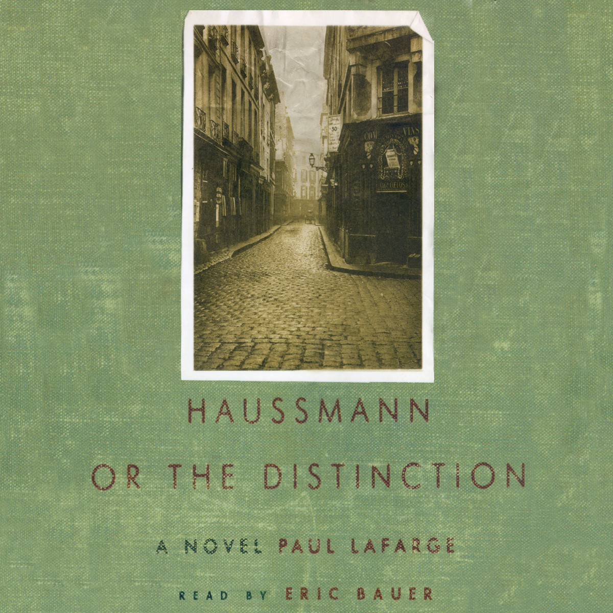 Printable Haussmann: or, The Distinction Audiobook Cover Art