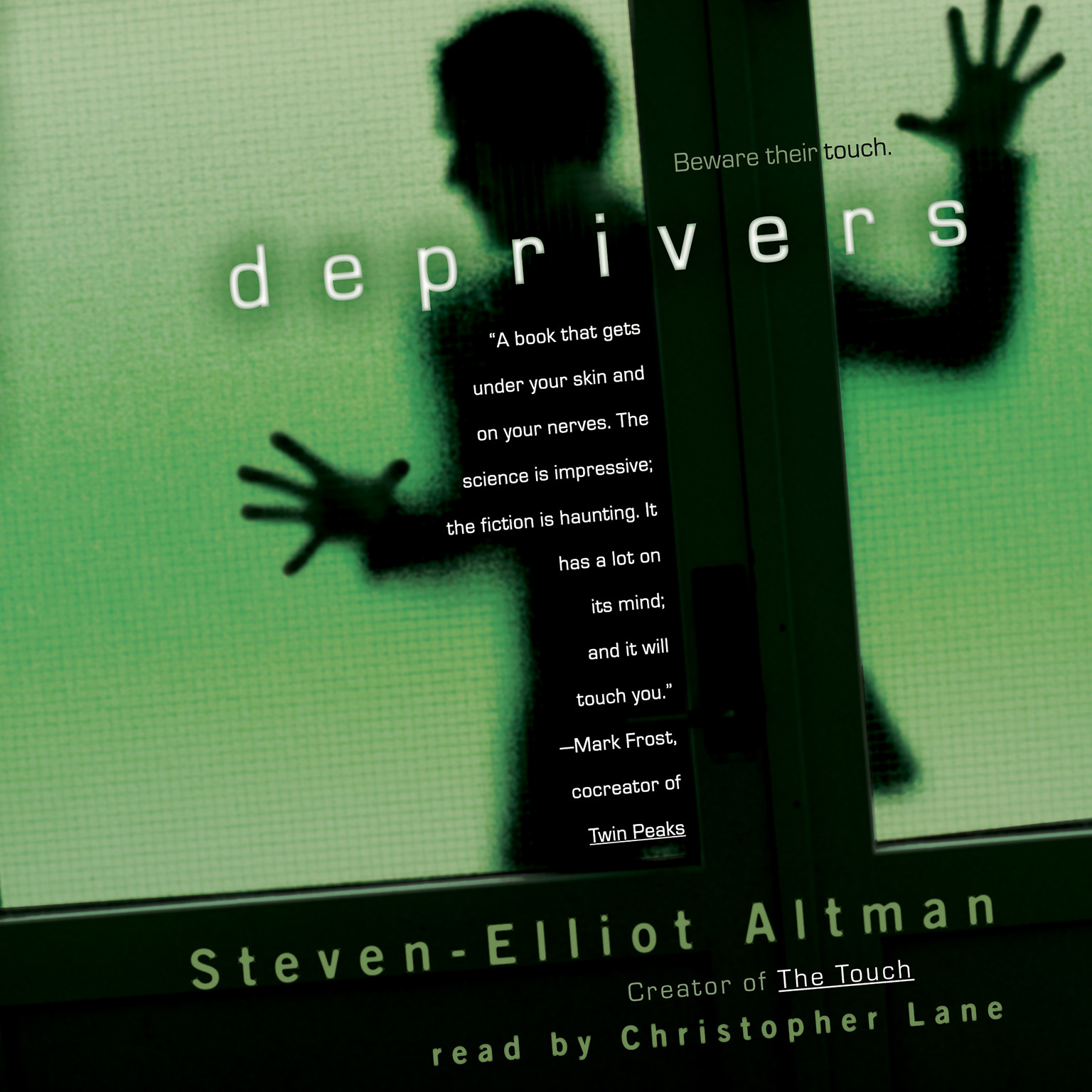 Printable Deprivers Audiobook Cover Art
