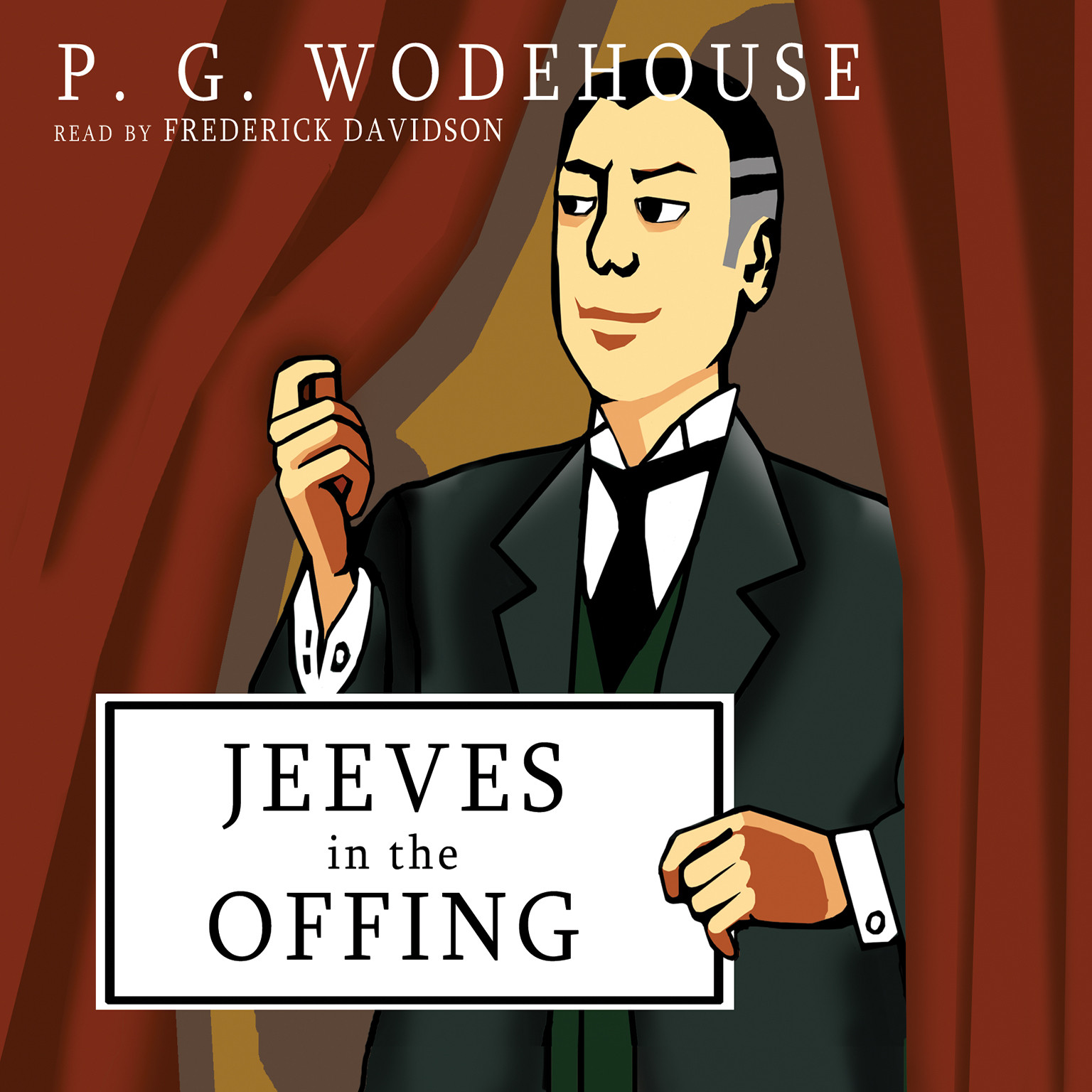 Printable Jeeves in the Offing Audiobook Cover Art