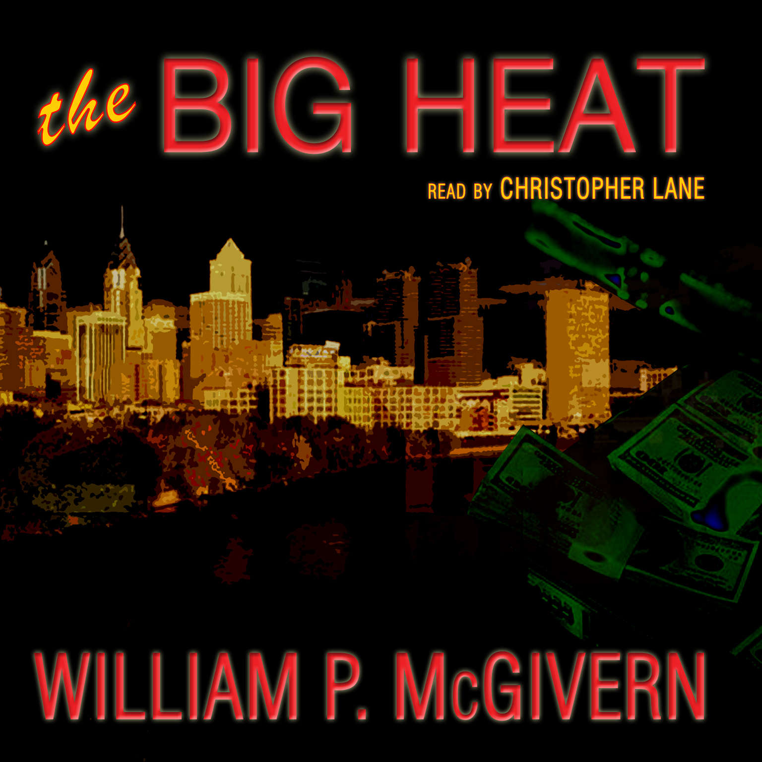 Printable The Big Heat Audiobook Cover Art