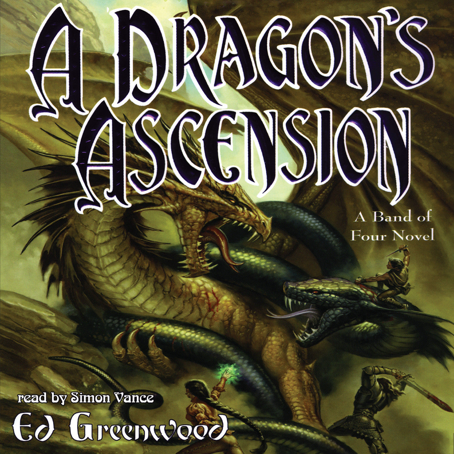 Printable A Dragon's Ascension Audiobook Cover Art