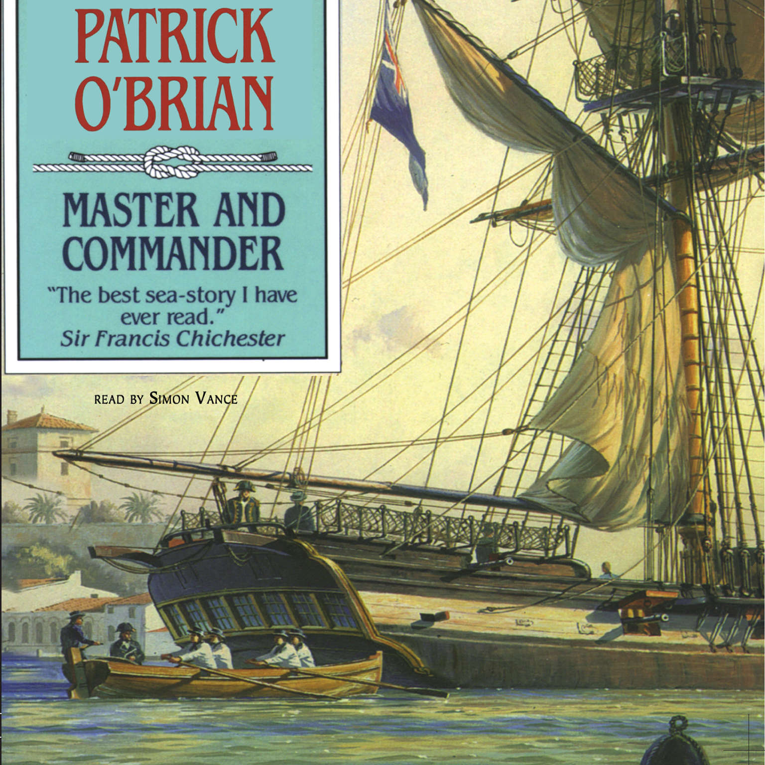 Printable Master and Commander Audiobook Cover Art