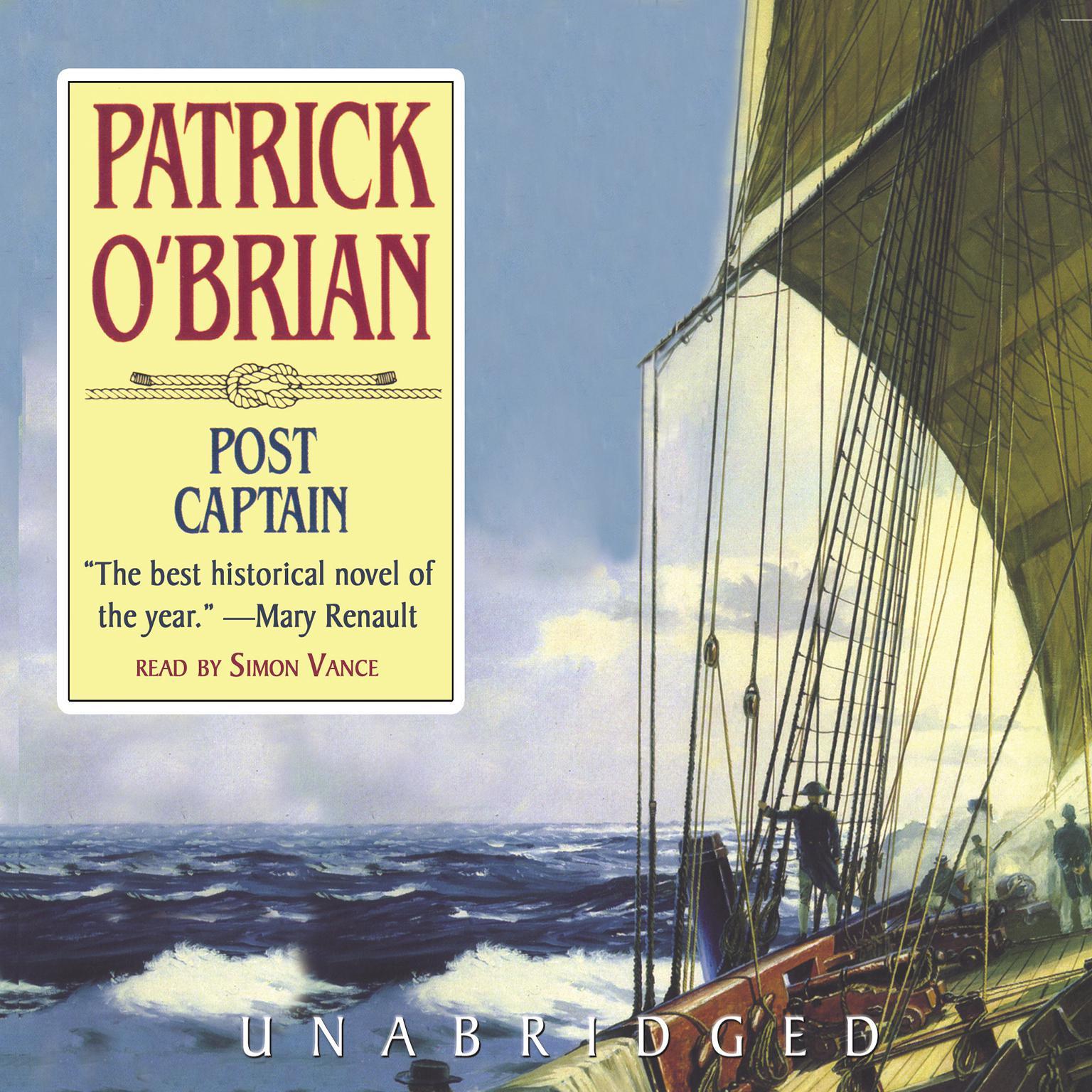 Printable Post Captain Audiobook Cover Art