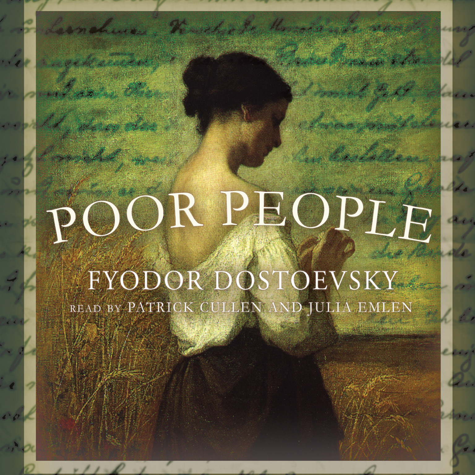 Printable Poor People Audiobook Cover Art