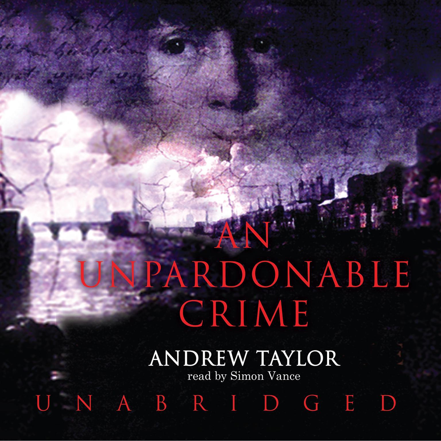 Printable An Unpardonable Crime Audiobook Cover Art