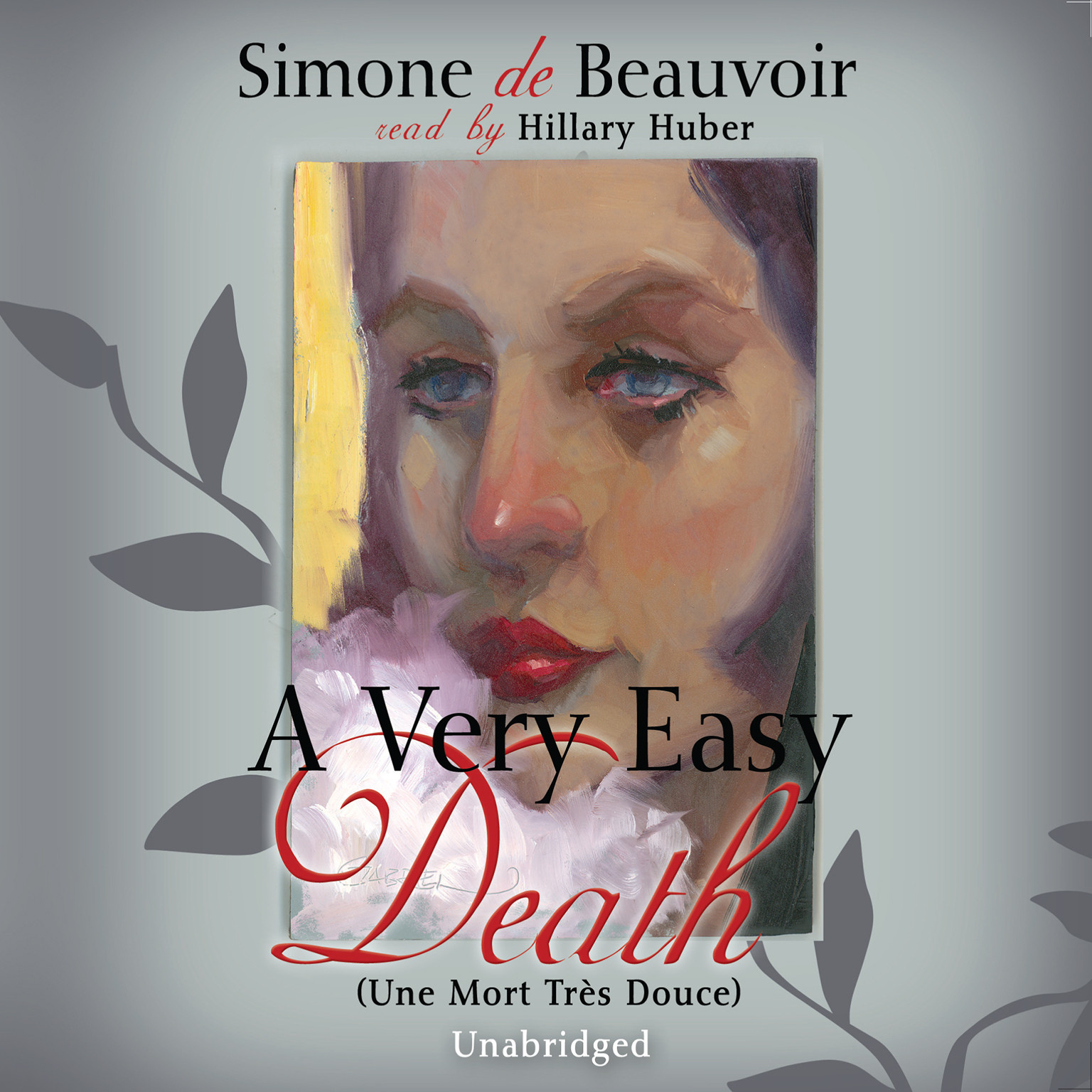 Printable A Very Easy Death Audiobook Cover Art