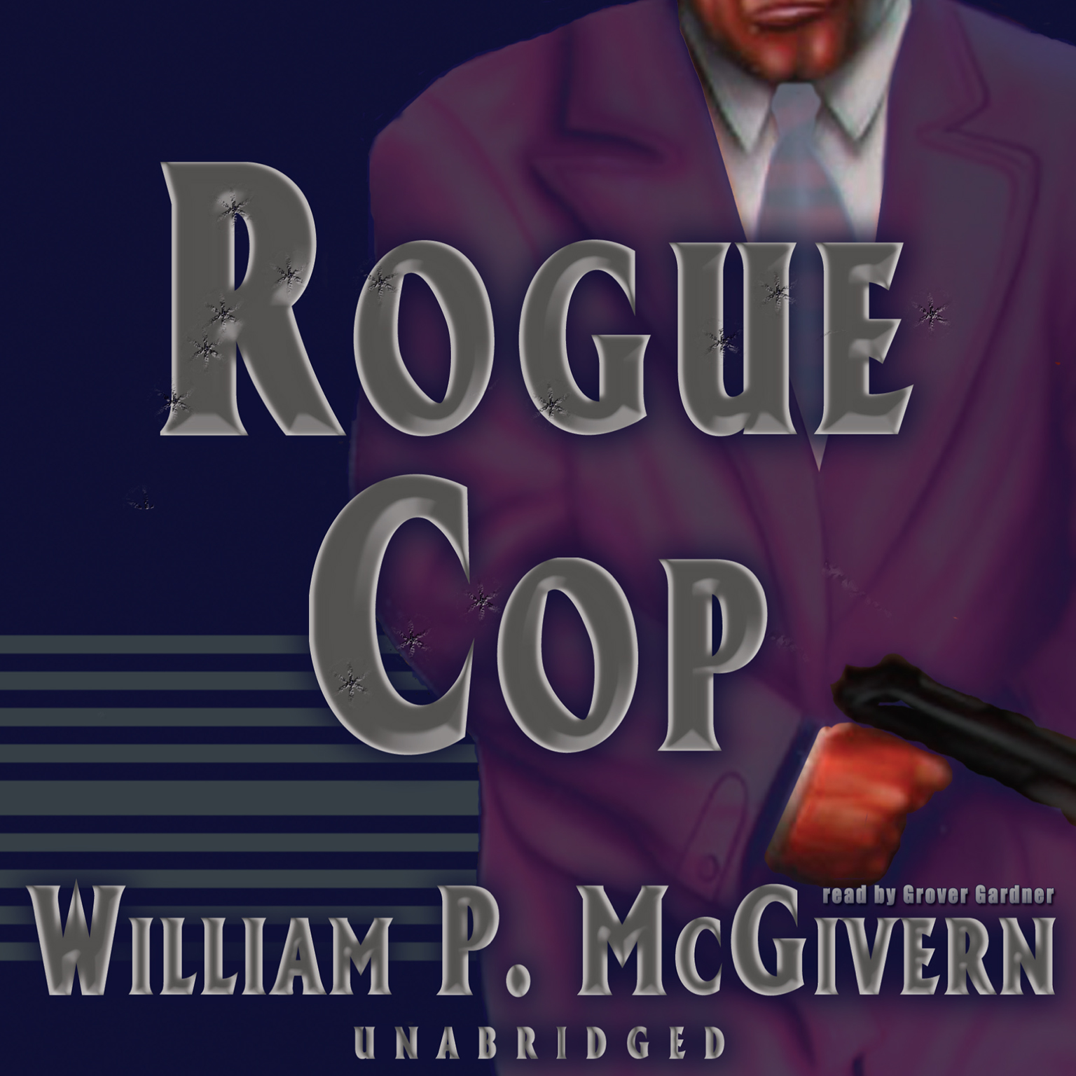 Printable Rogue Cop Audiobook Cover Art