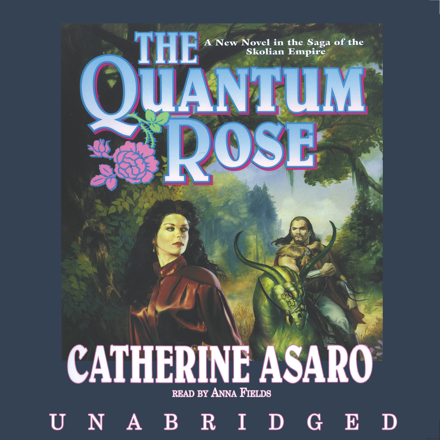 Printable The Quantum Rose Audiobook Cover Art