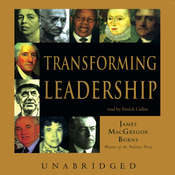 Transforming Leadership, by James MacGregor Burns