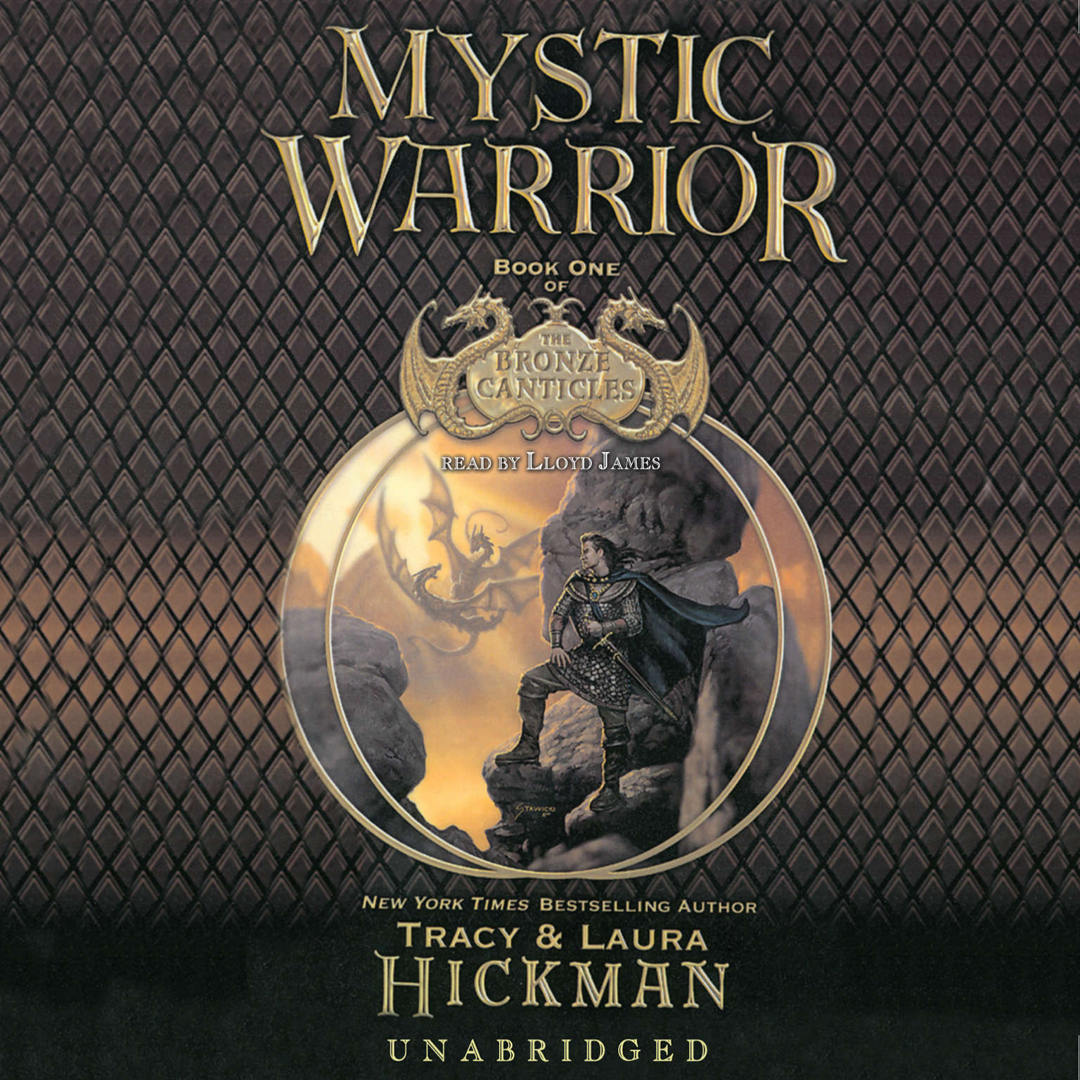 Printable Mystic Warrior Audiobook Cover Art