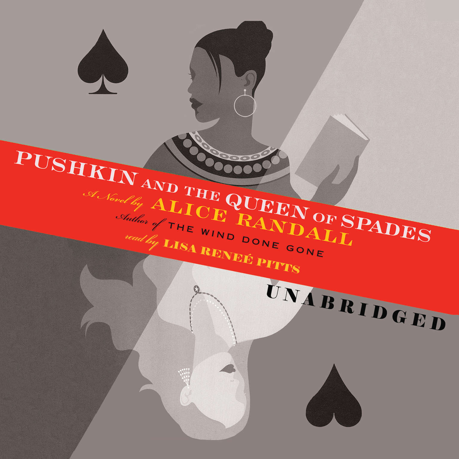 Printable Pushkin and the Queen of Spades Audiobook Cover Art
