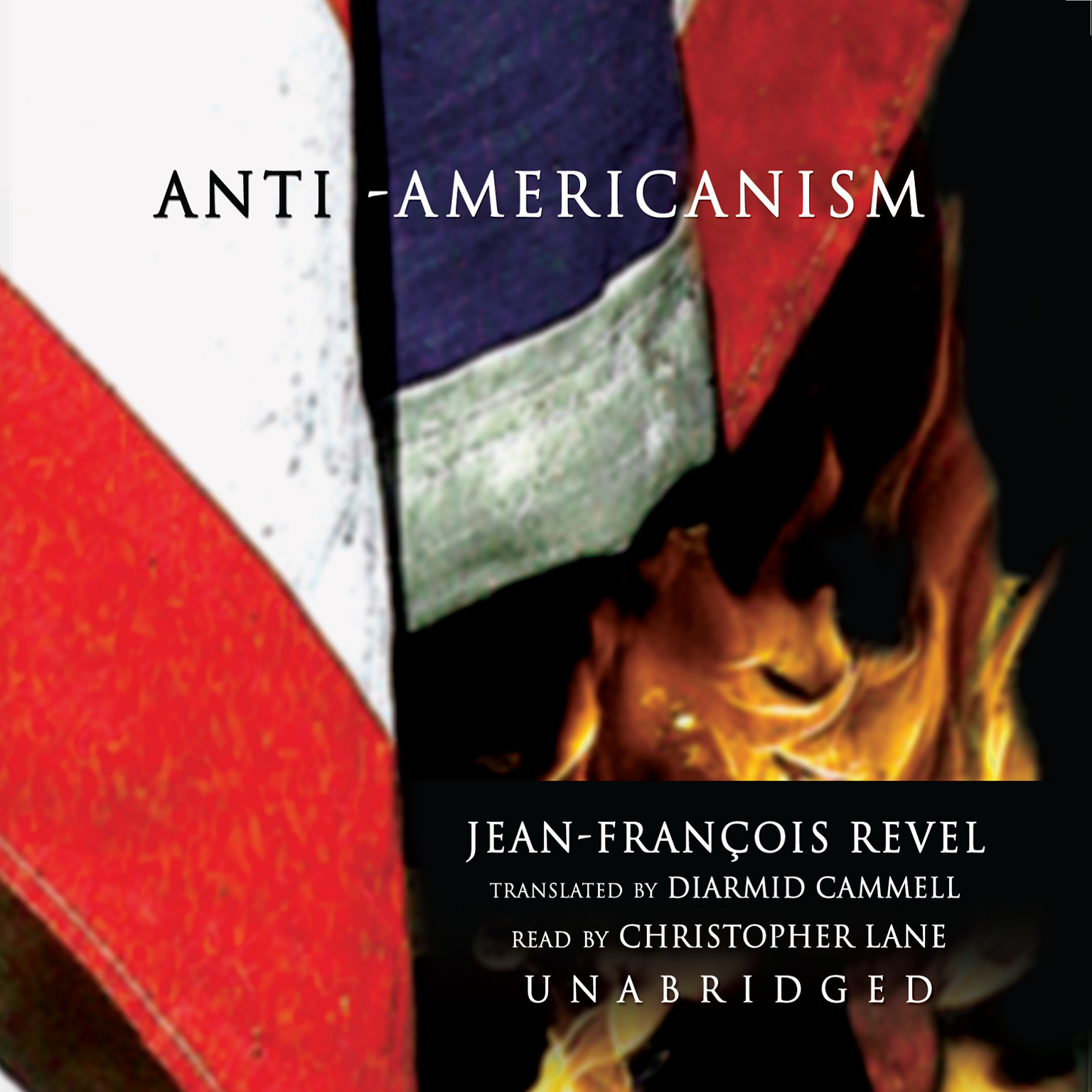 Printable Anti-Americanism Audiobook Cover Art