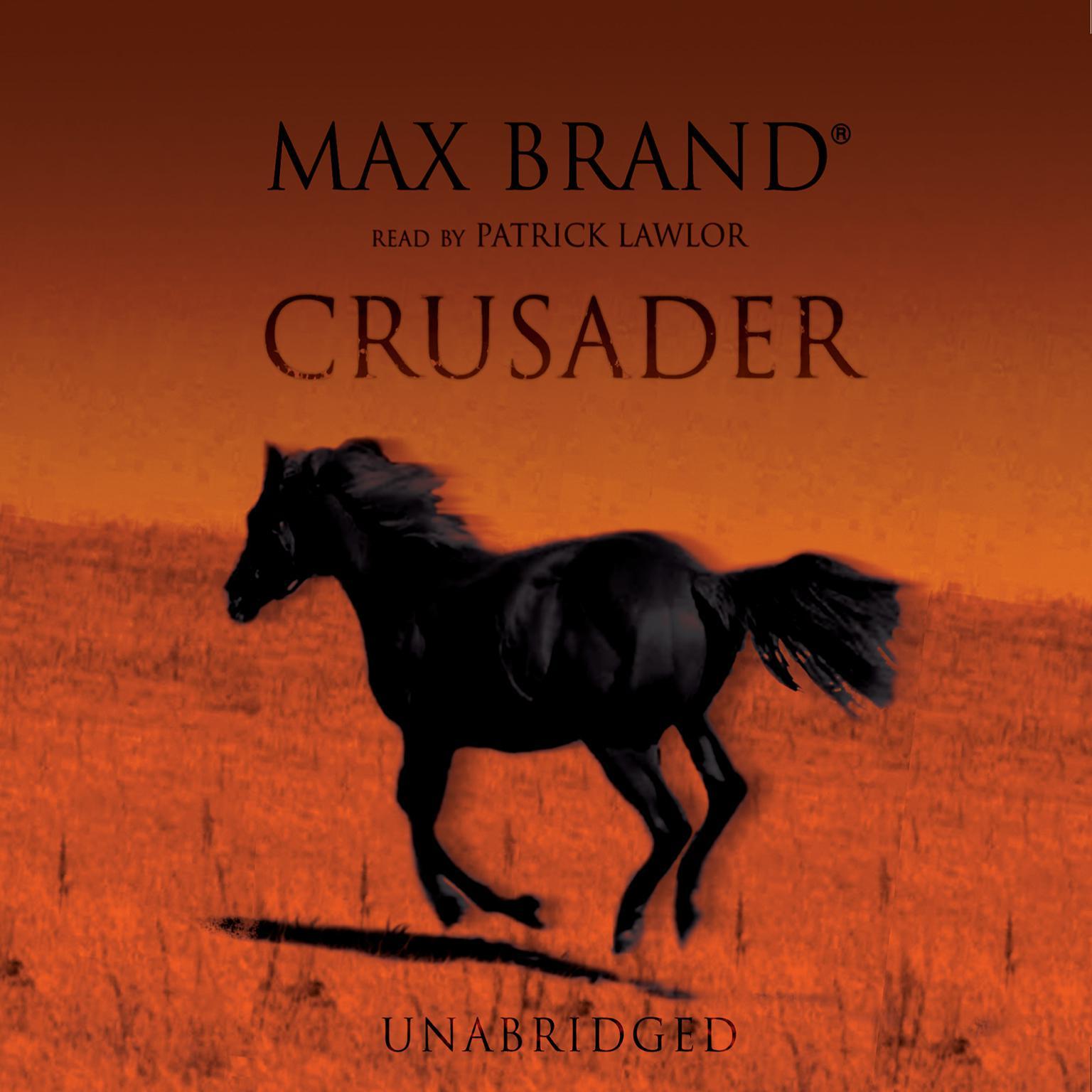 Printable Crusader Audiobook Cover Art