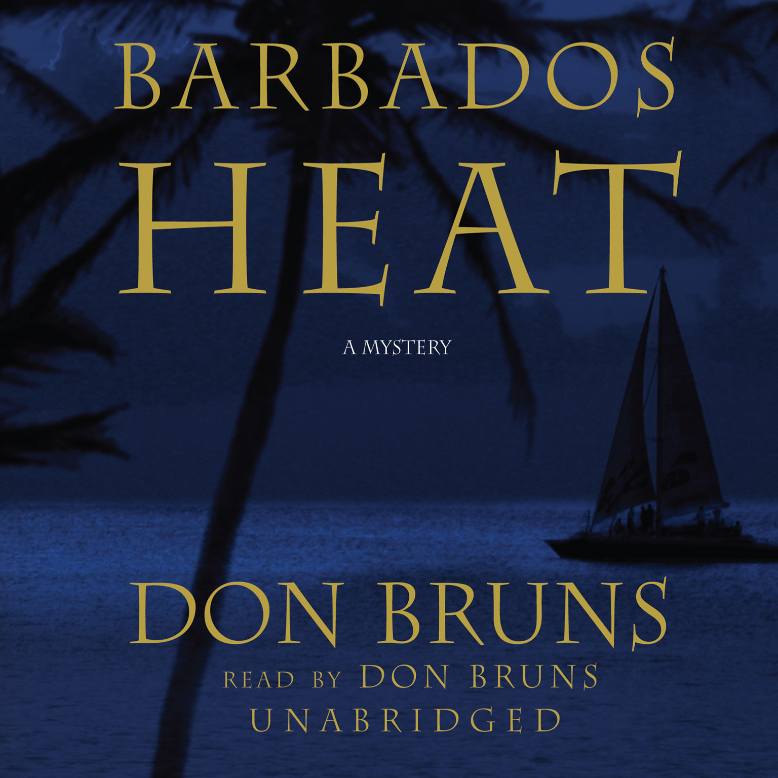 Printable Barbados Heat Audiobook Cover Art
