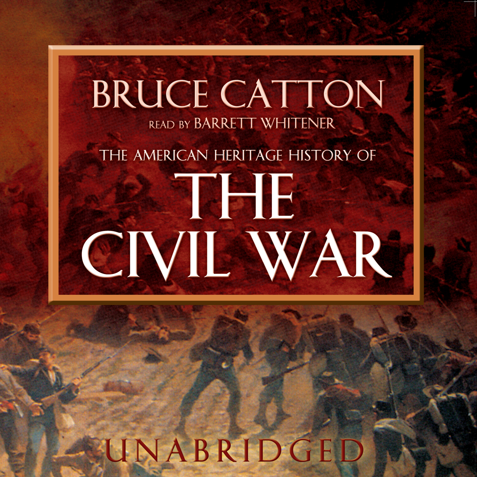 Printable The American Heritage History of the Civil War Audiobook Cover Art