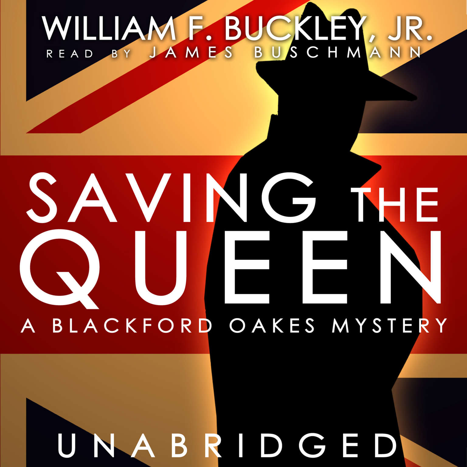 Printable Saving the Queen: A Blackford Oakes Mystery Audiobook Cover Art
