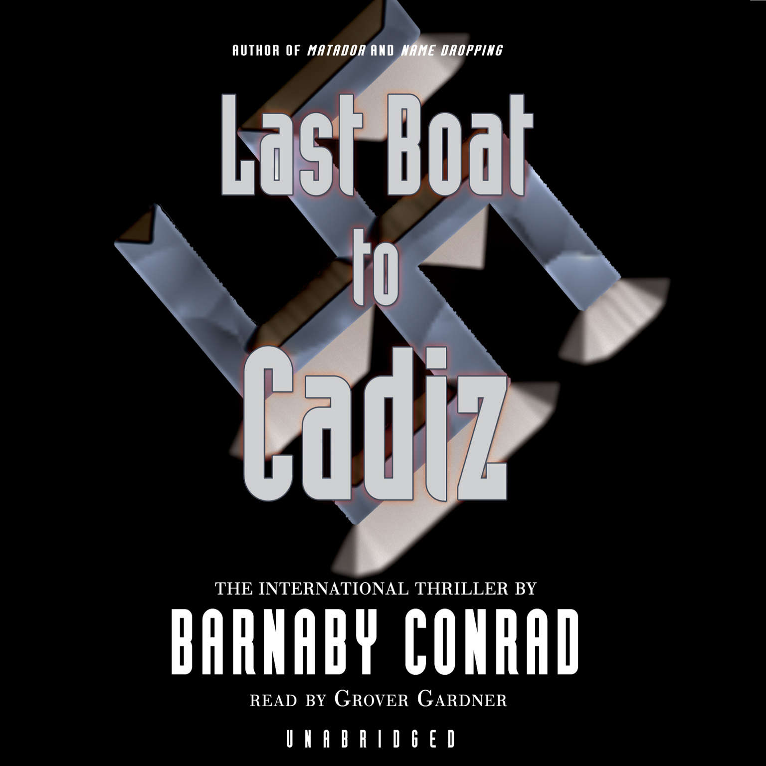 Printable Last Boat to Cadiz Audiobook Cover Art