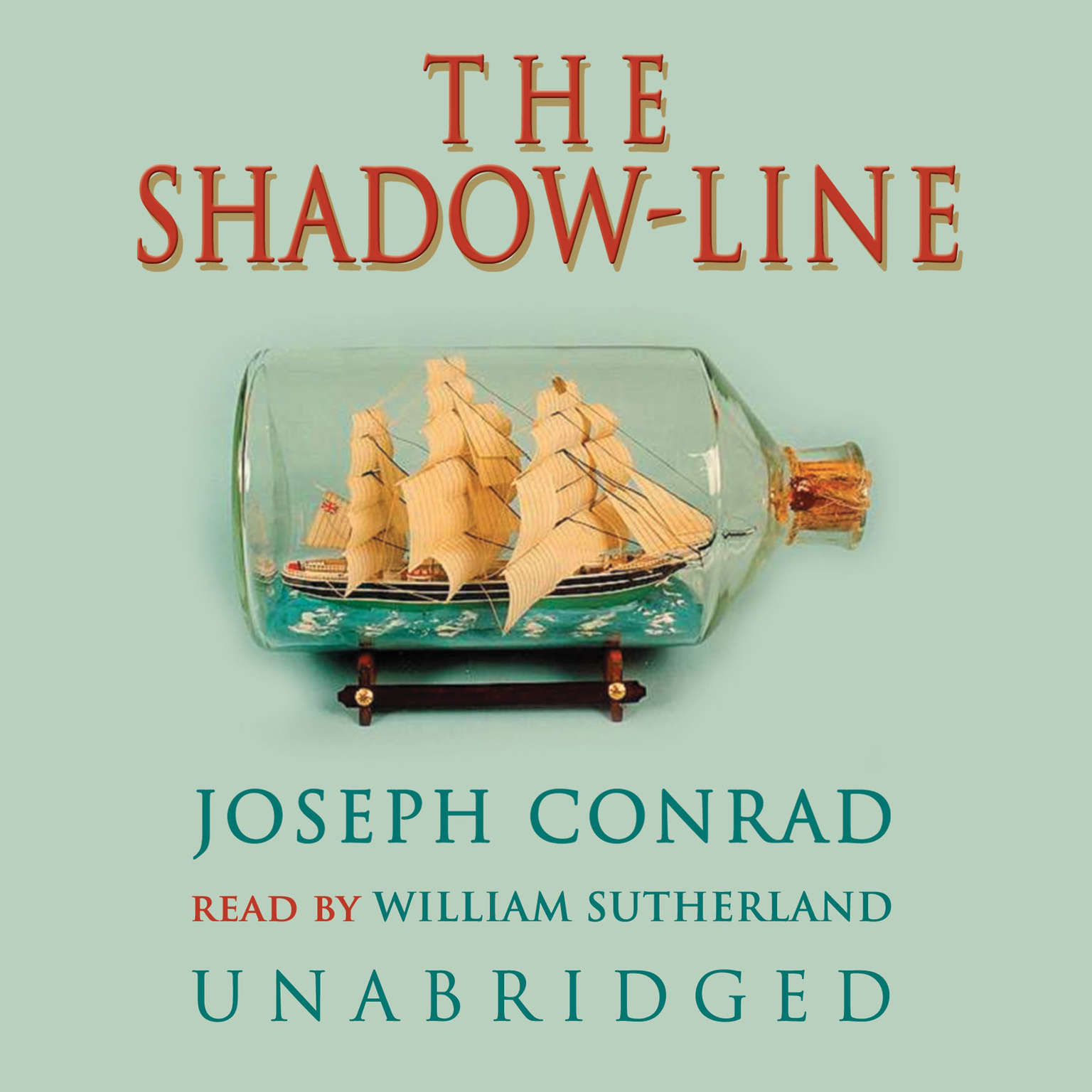 Printable The Shadow-Line: A Confession Audiobook Cover Art
