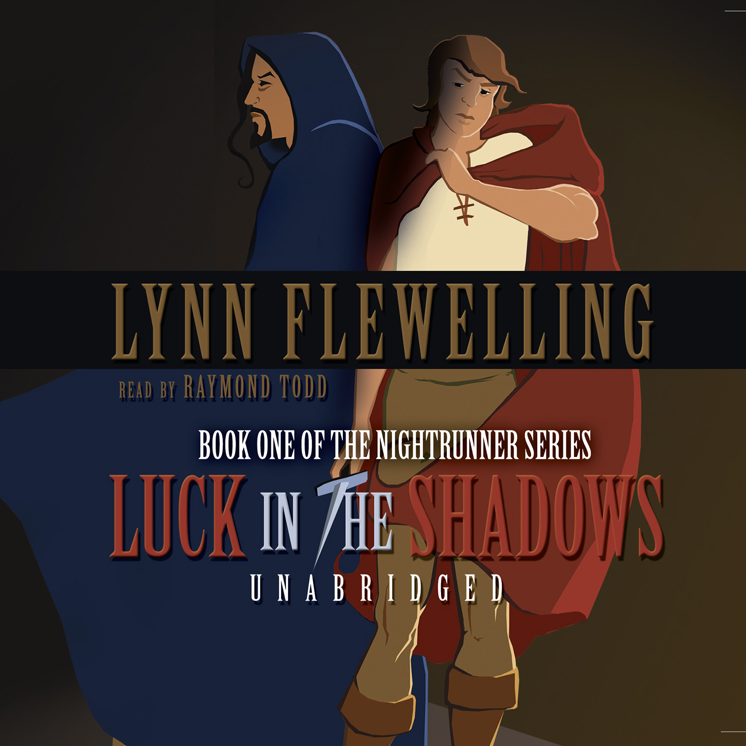 Printable Luck in the Shadows Audiobook Cover Art