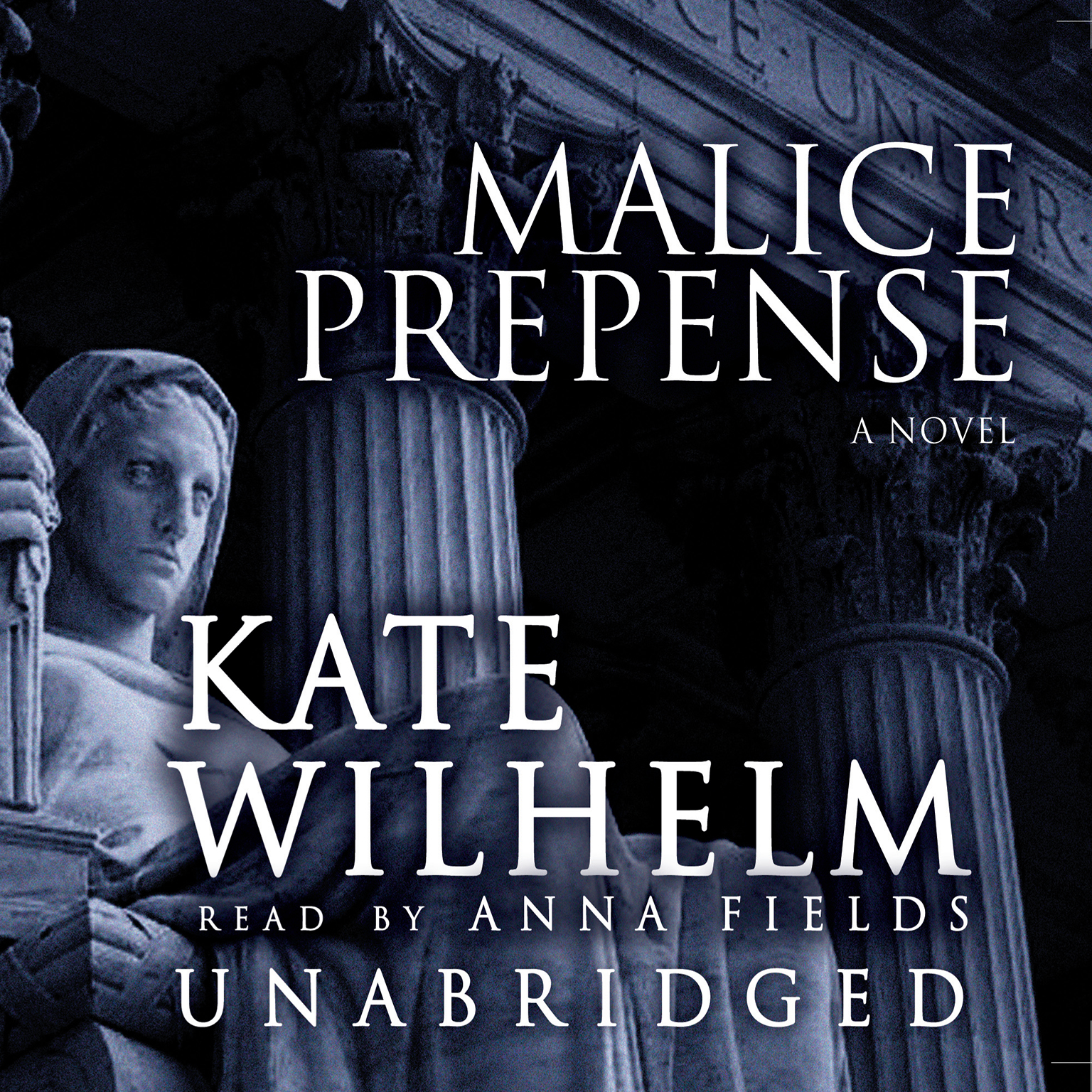 Printable Malice Prepense Audiobook Cover Art