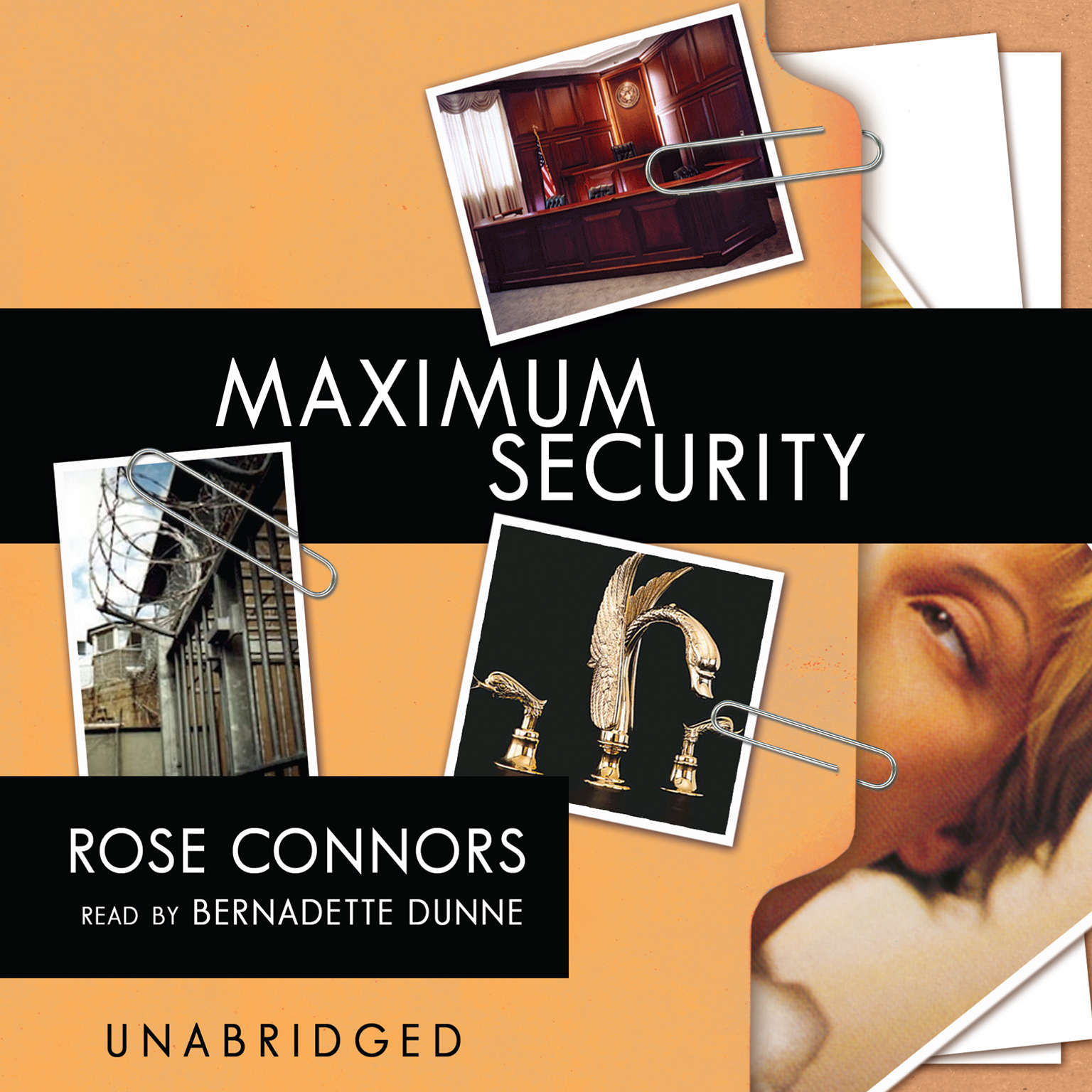 Printable Maximum Security: A Mystery Audiobook Cover Art