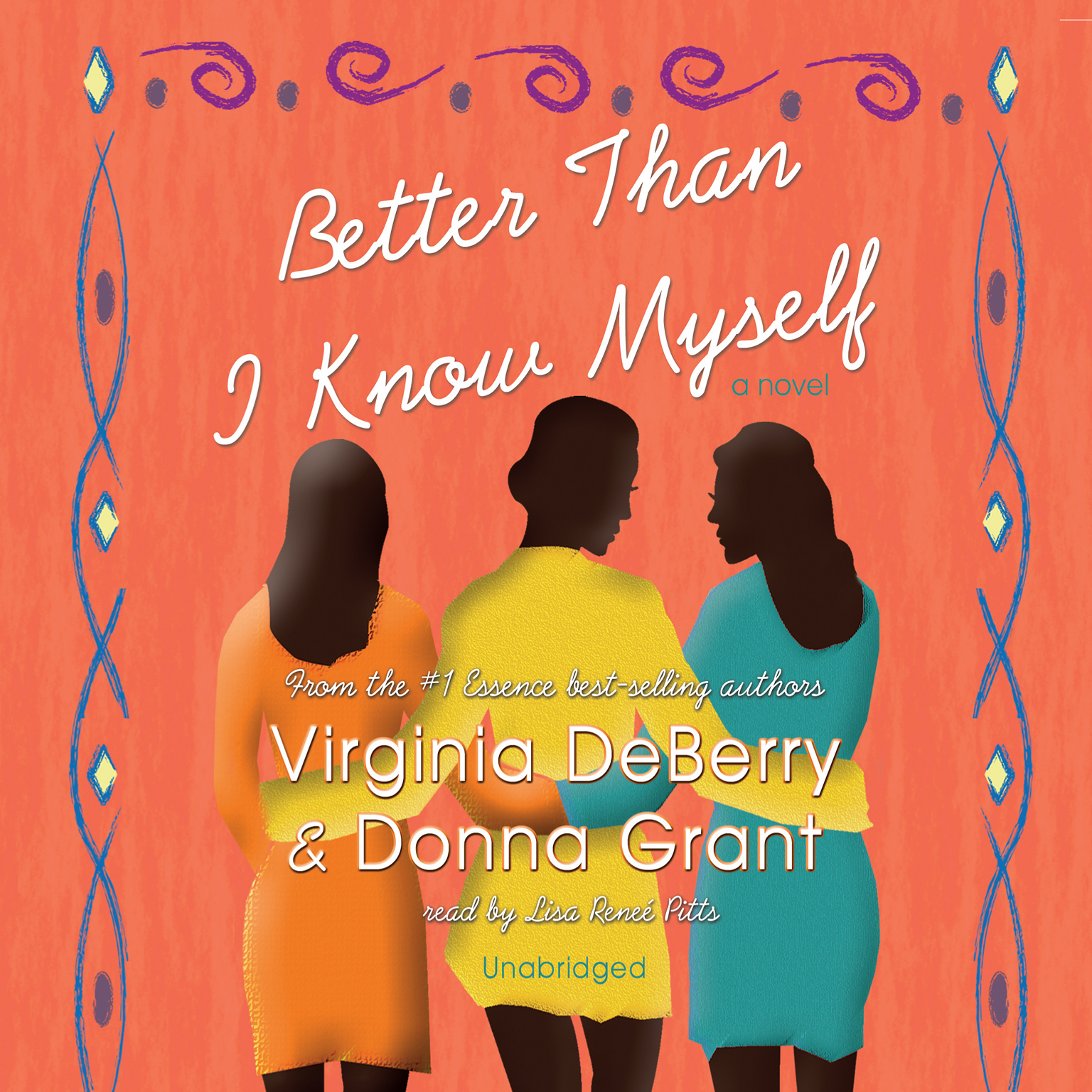 Printable Better Than I Know Myself Audiobook Cover Art
