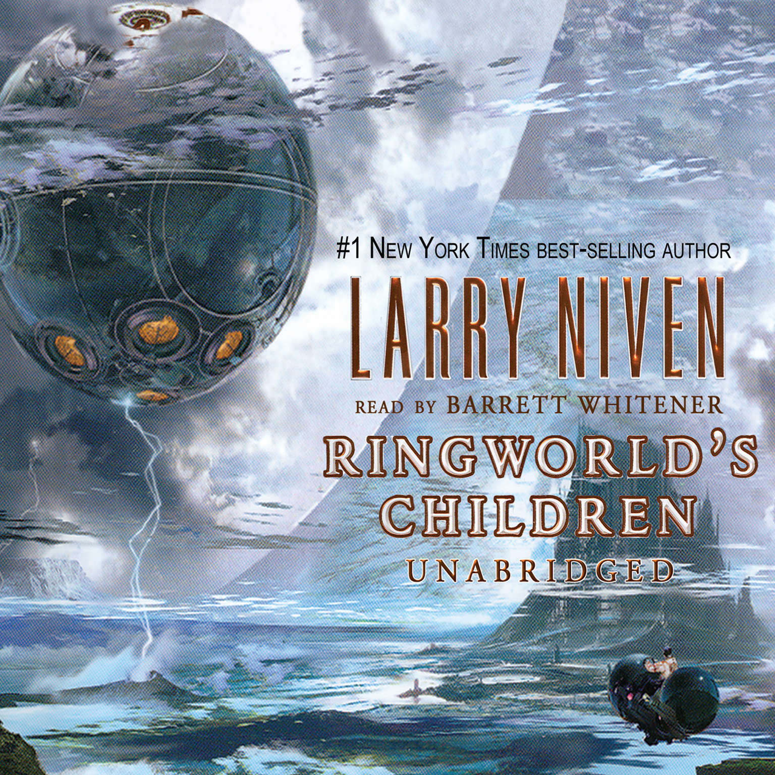 Printable Ringworld's Children Audiobook Cover Art