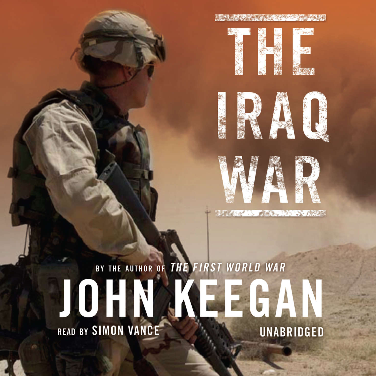 Printable The Iraq War Audiobook Cover Art
