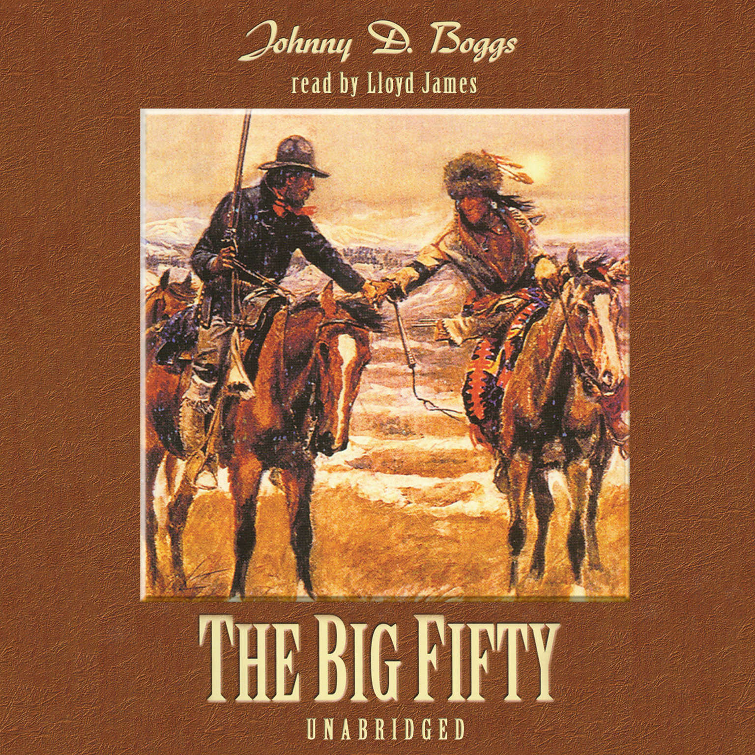 Printable The Big Fifty Audiobook Cover Art