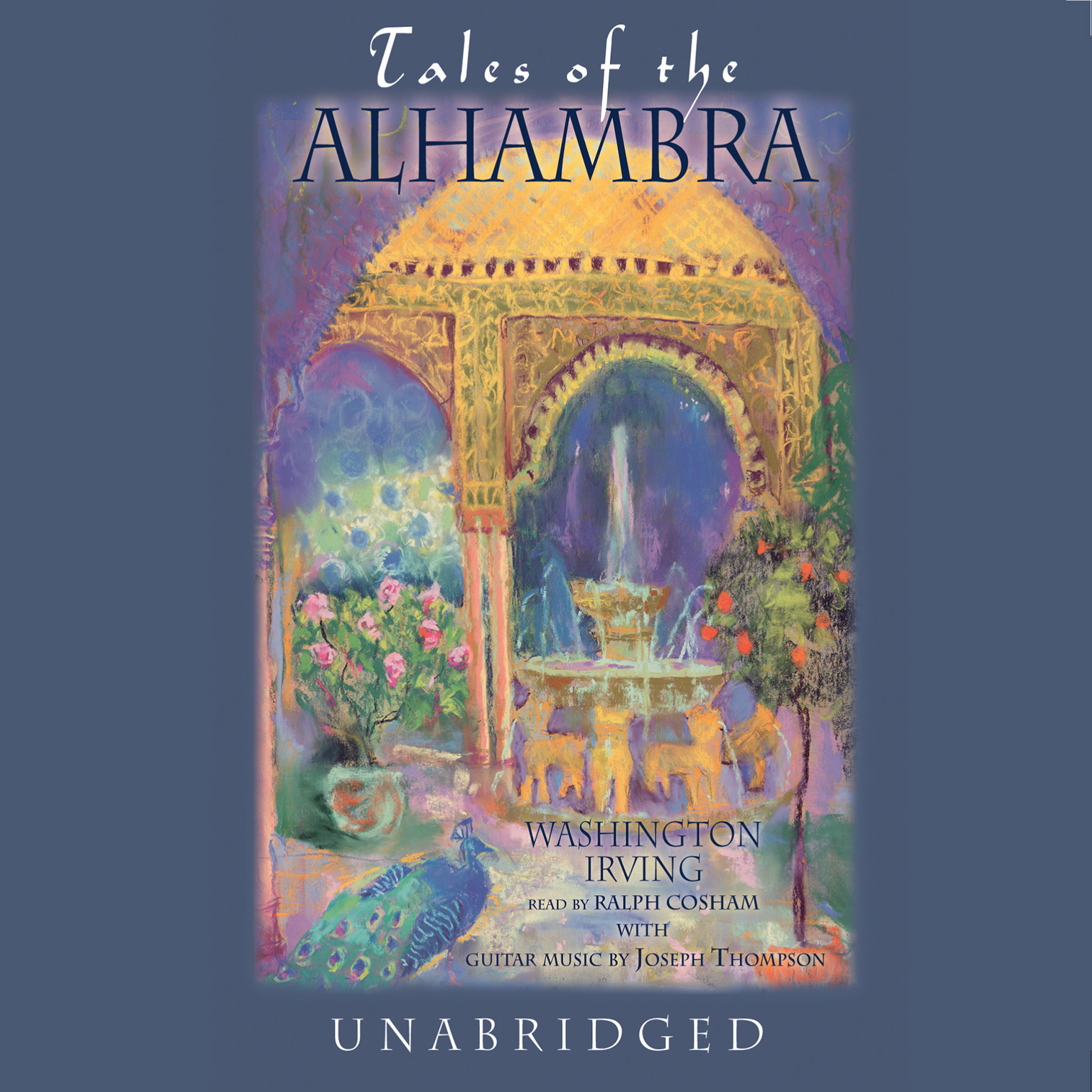 Printable Tales of the Alhambra: A Series of Tales and Sketches of the Moors and Spaniards Audiobook Cover Art