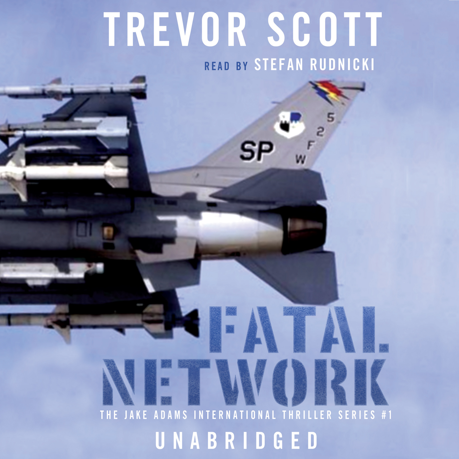 Printable Fatal Network Audiobook Cover Art
