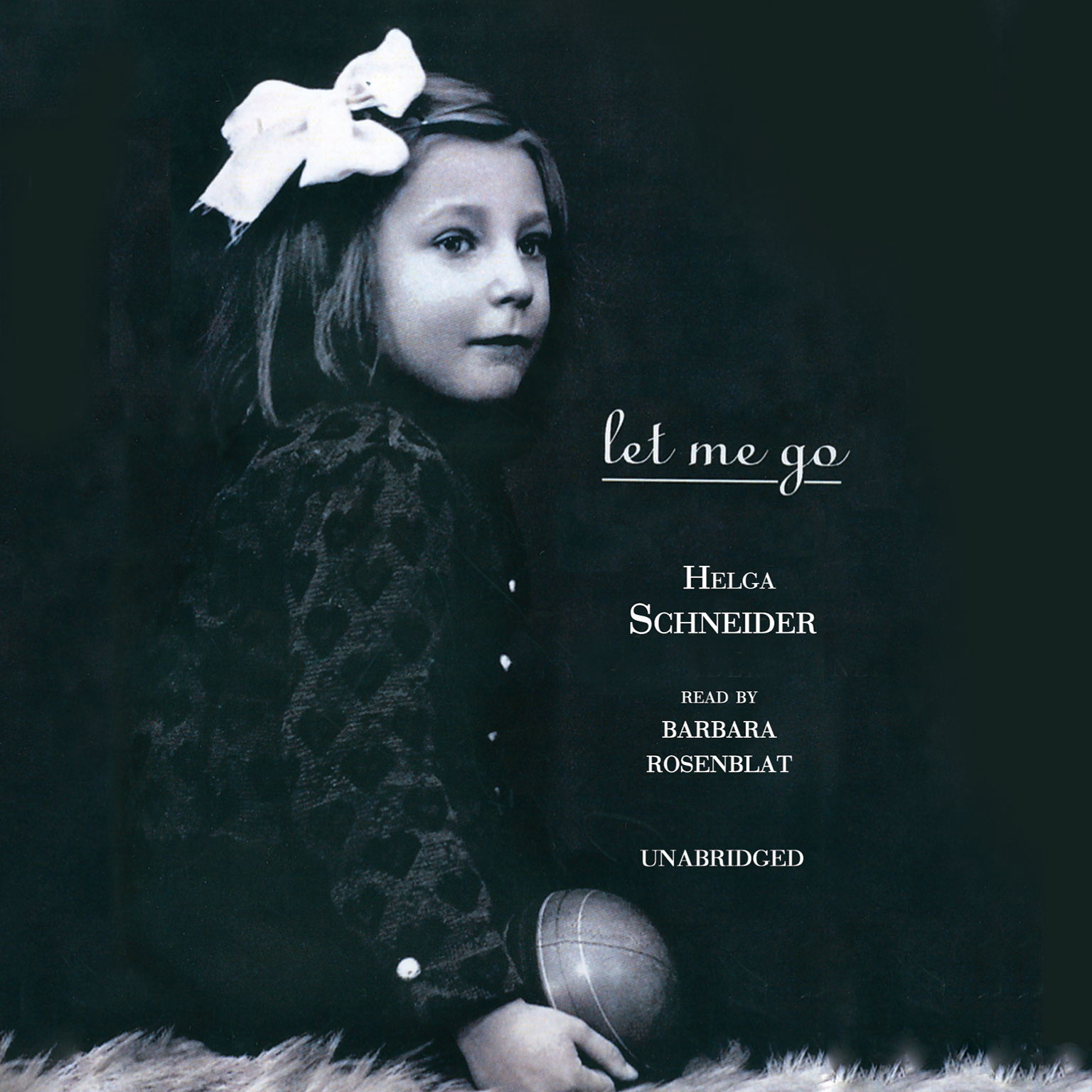 Printable Let Me Go Audiobook Cover Art