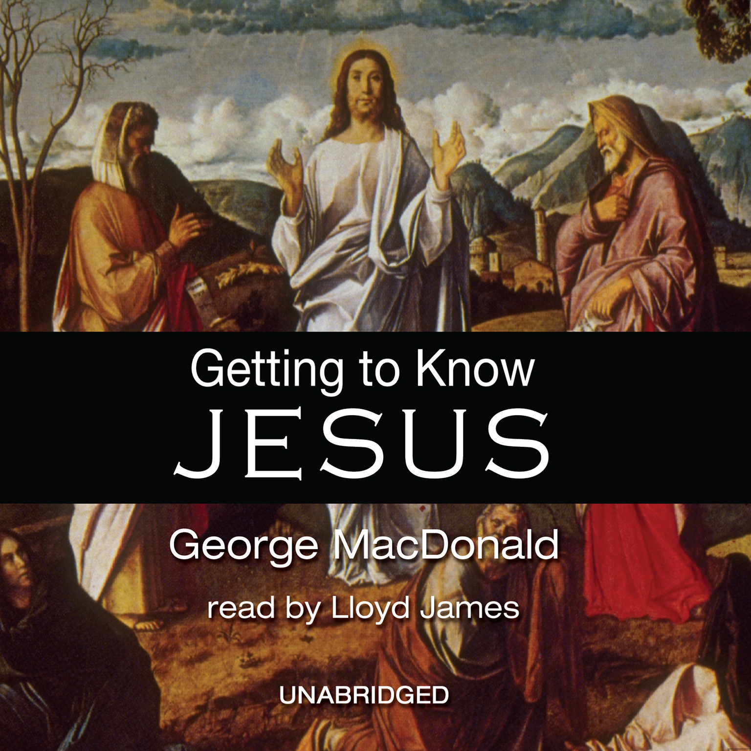 Printable Getting to Know Jesus Audiobook Cover Art