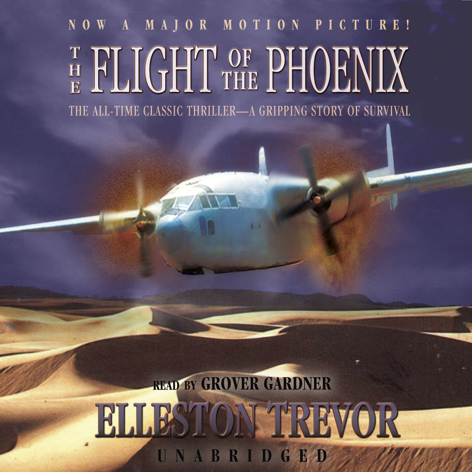 Printable The Flight of the Phoenix Audiobook Cover Art