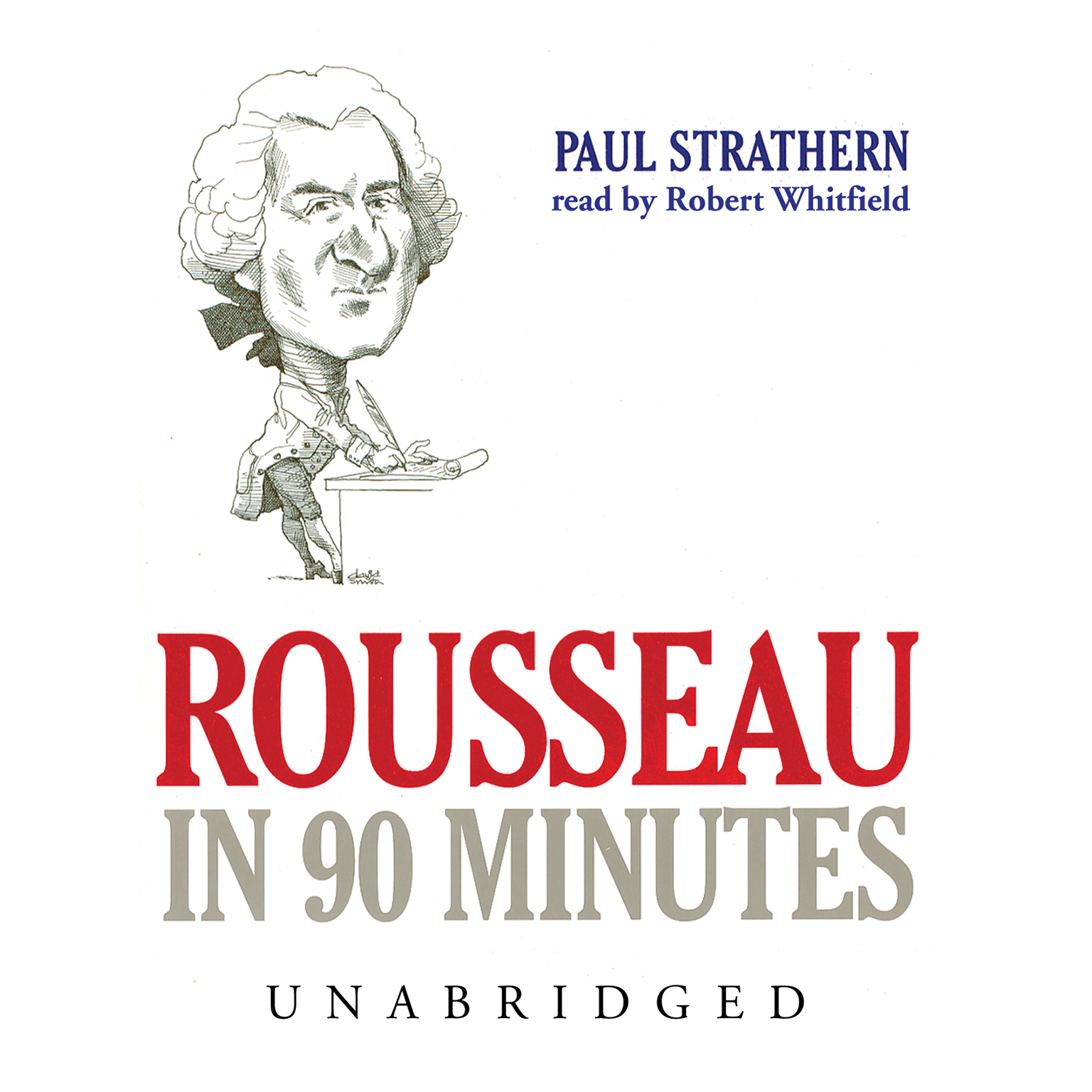 Printable Rousseau in 90 Minutes Audiobook Cover Art