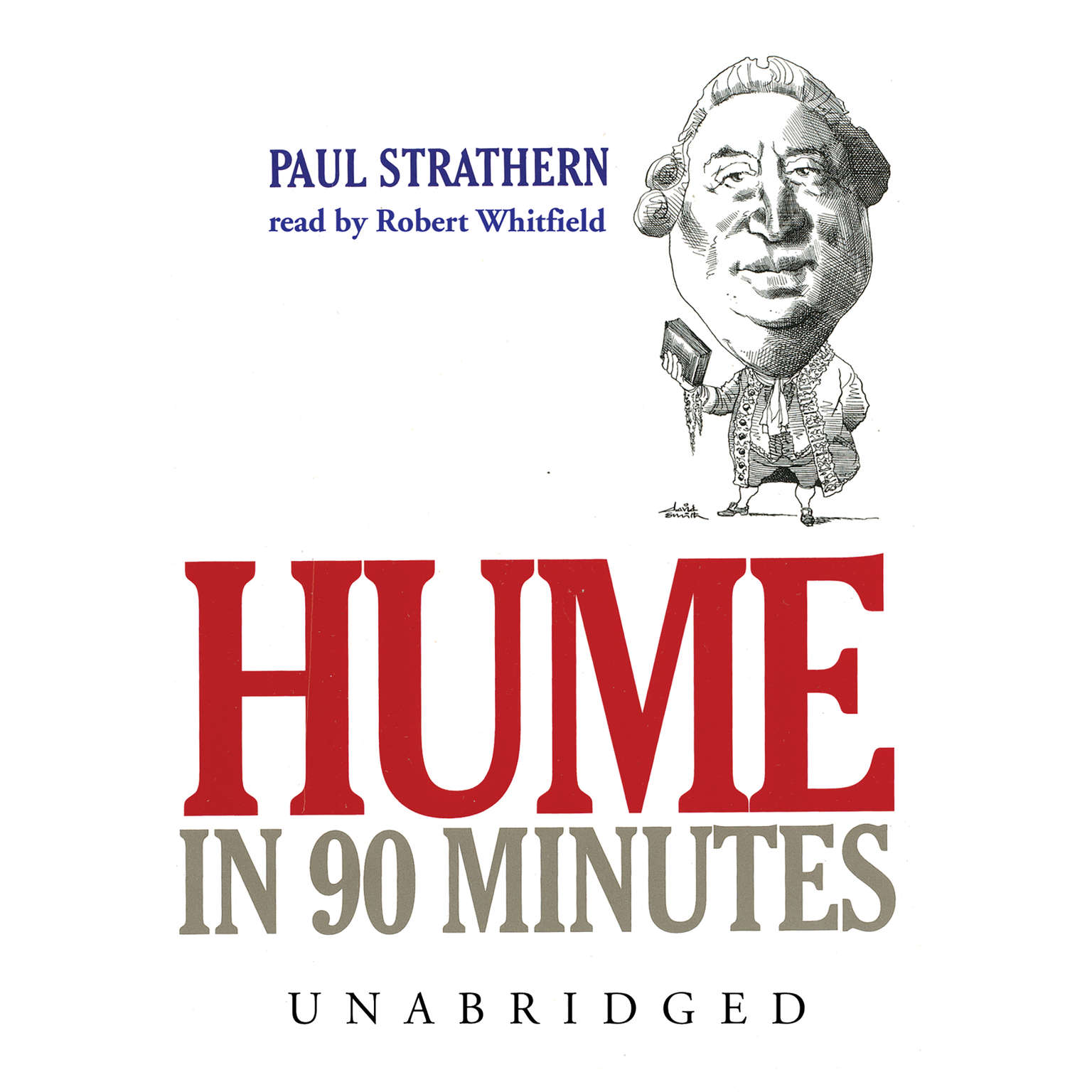 Printable Hume in 90 Minutes Audiobook Cover Art