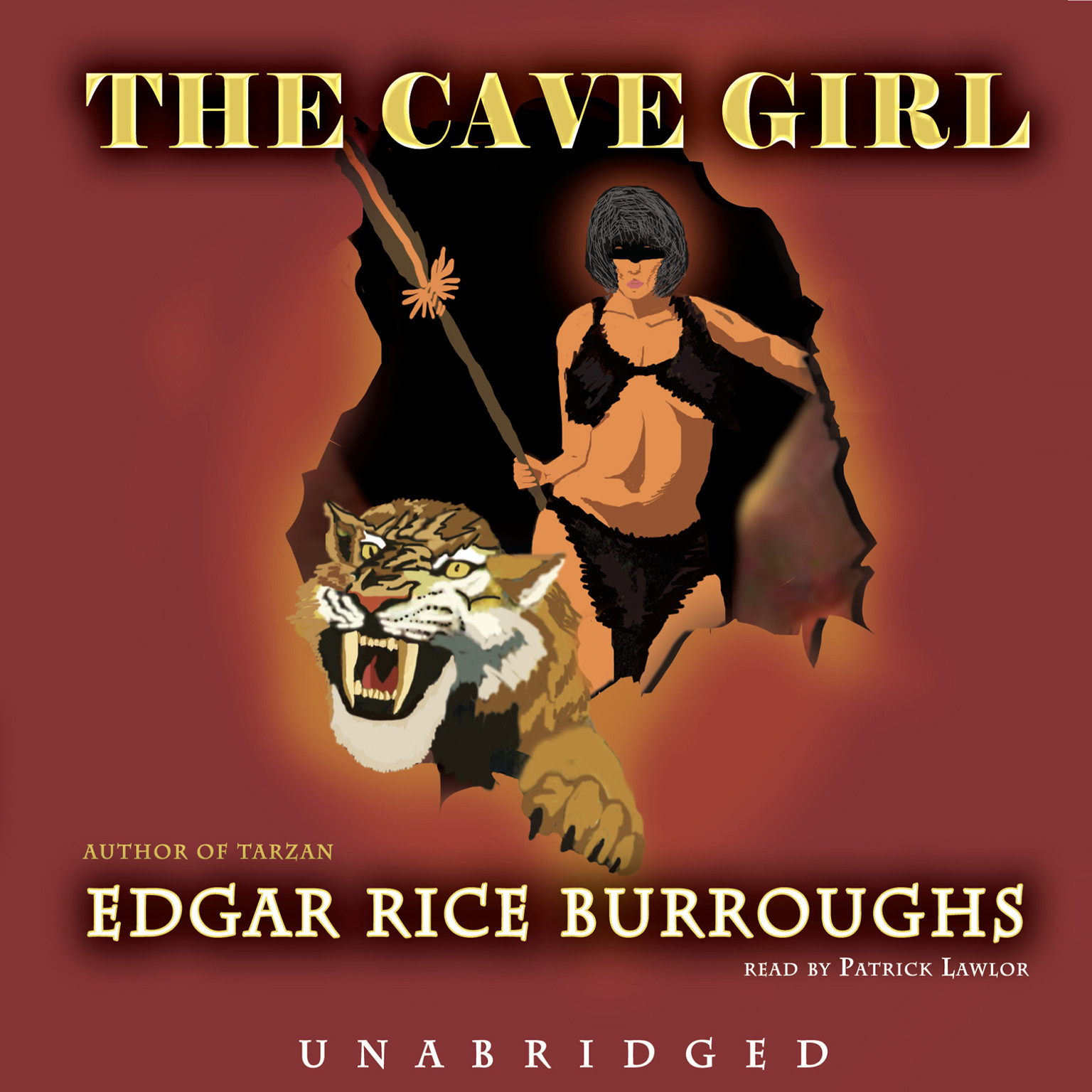 Printable The Cave Girl Audiobook Cover Art