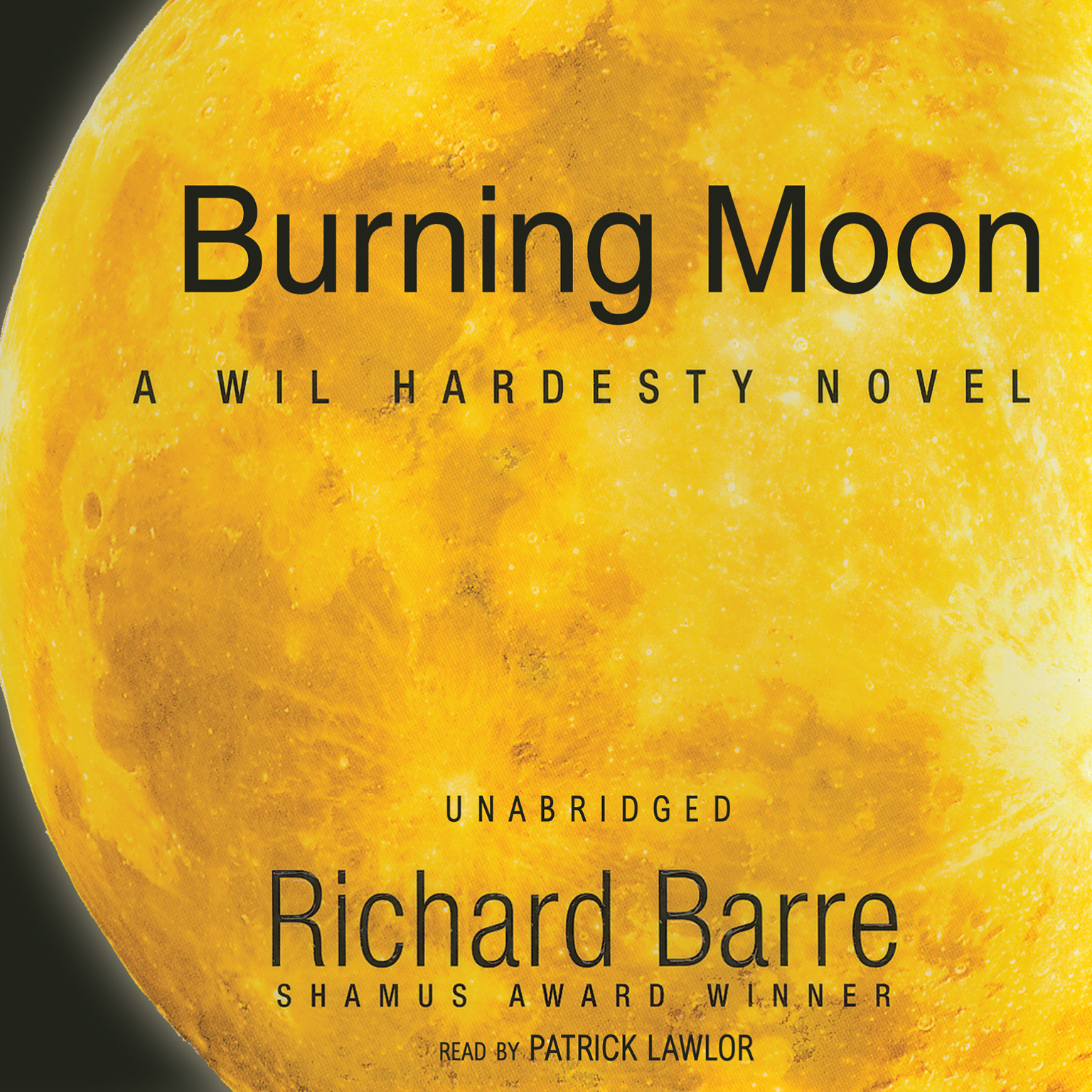 Printable Burning Moon: A Wil Hardesty Novel Audiobook Cover Art