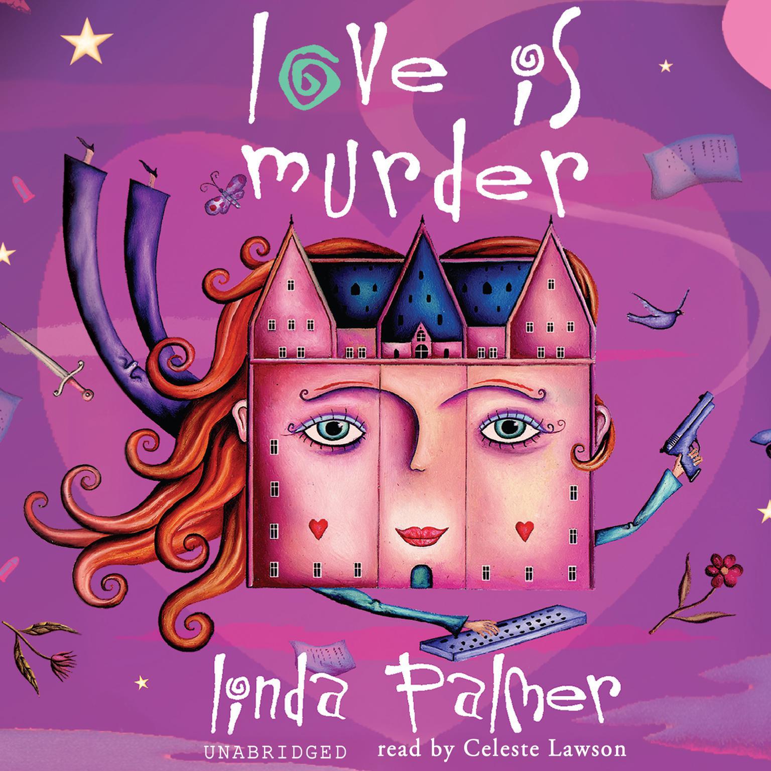 Printable Love Is Murder Audiobook Cover Art