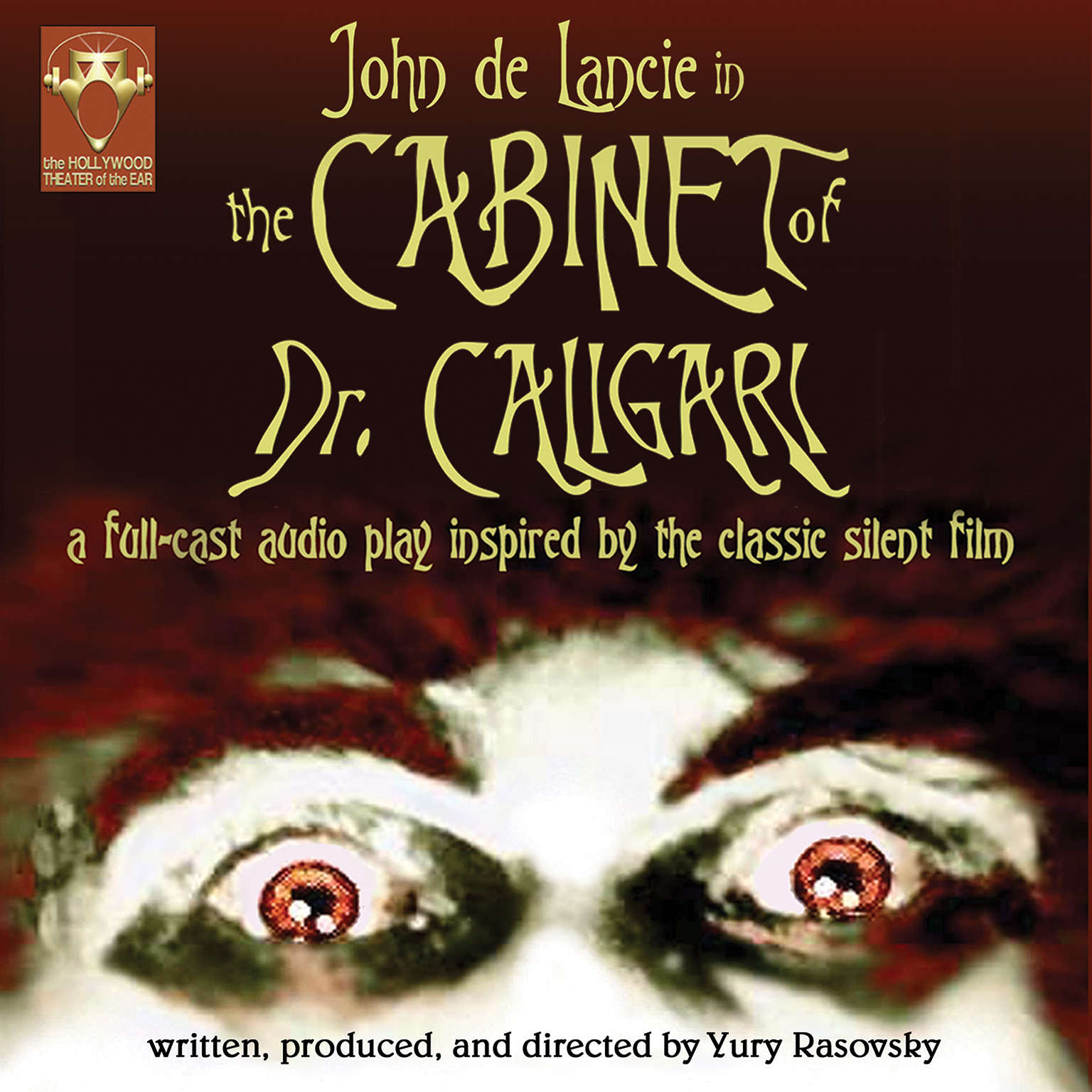 Printable The Cabinet of Dr. Caligari Audiobook Cover Art